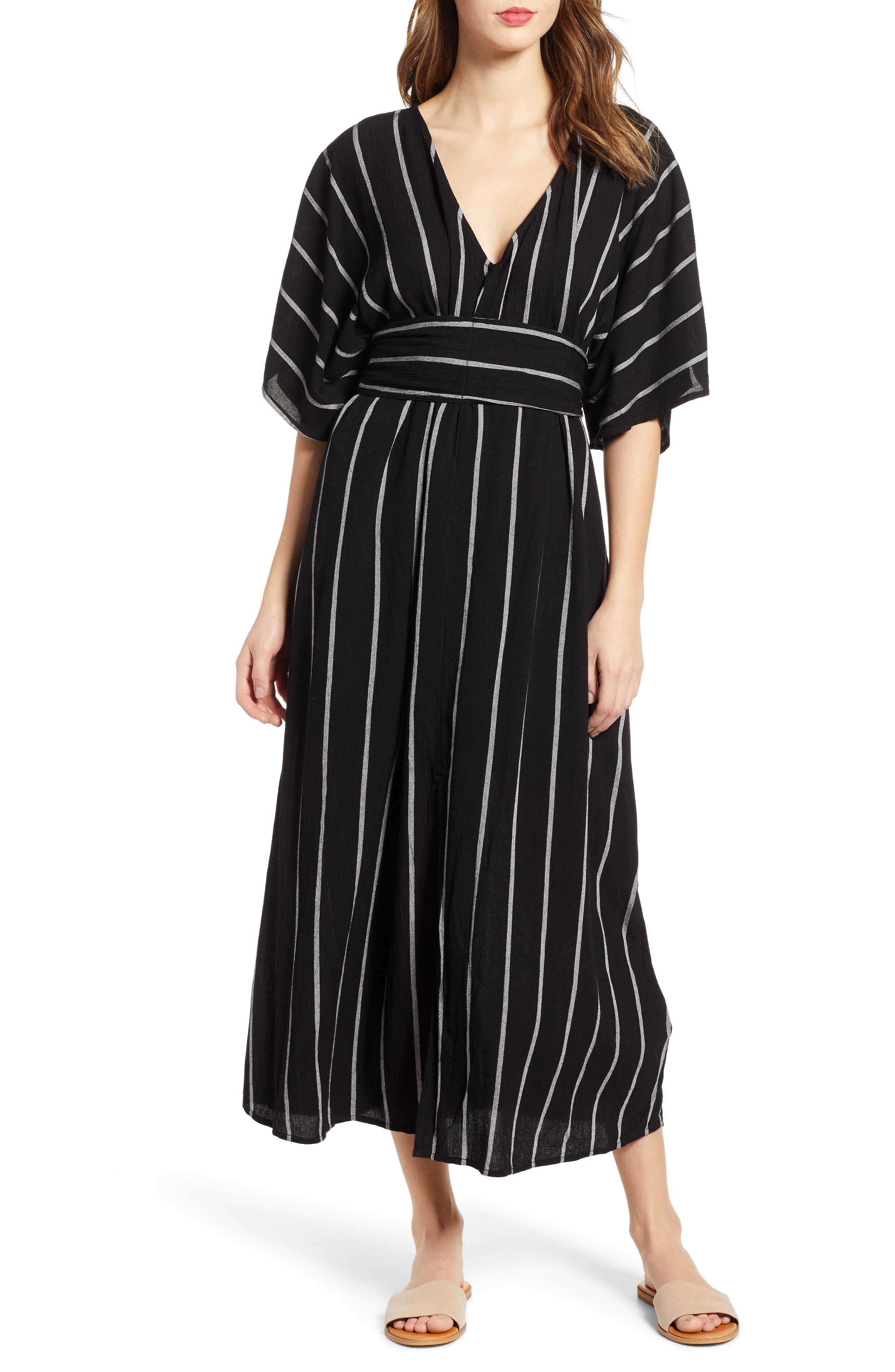 BILLABONG Forever Fine Dress, Main, color, BLACK