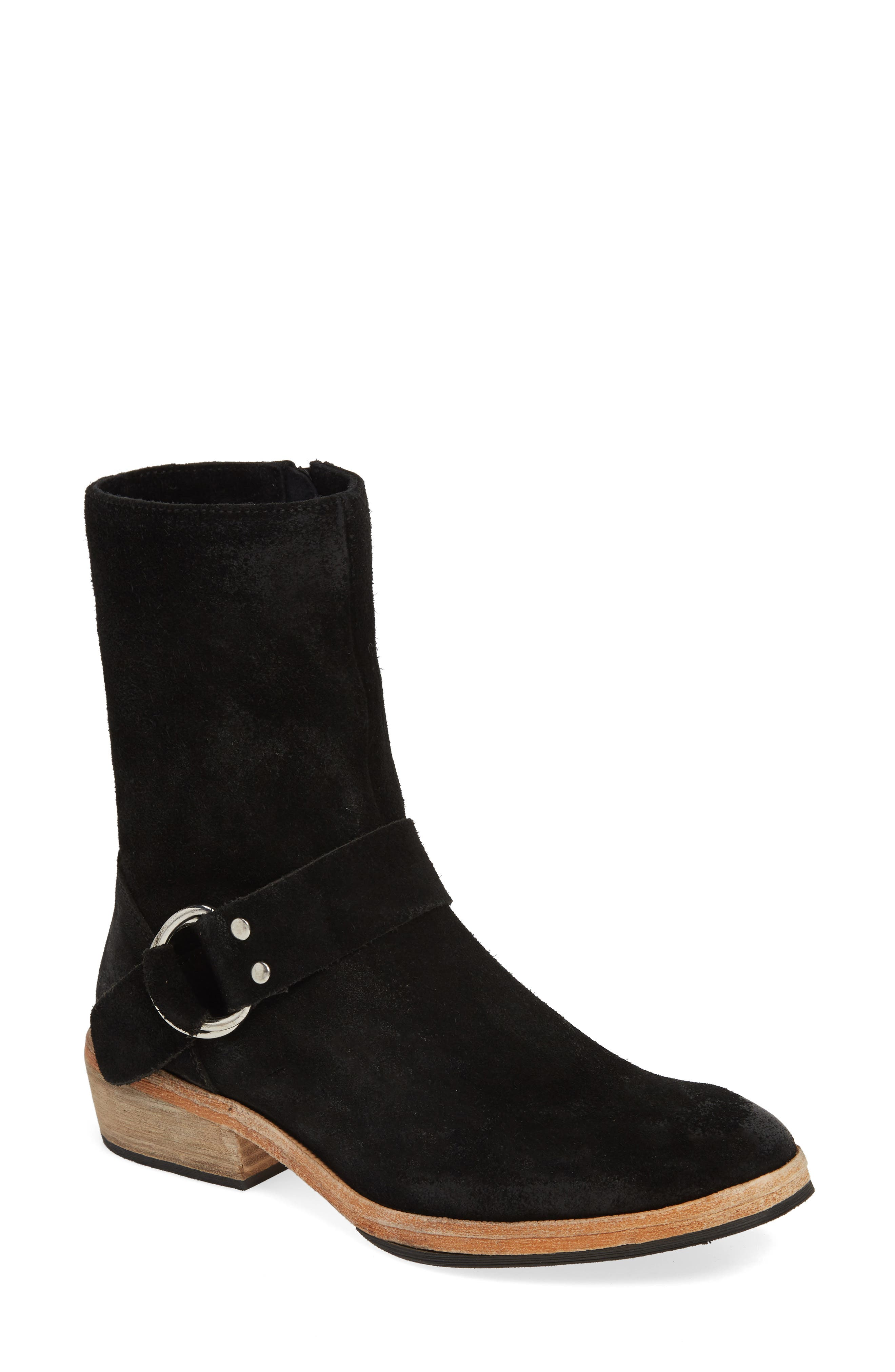 FREE PEOPLE, Venna Bootie, Main thumbnail 1, color, BLACK