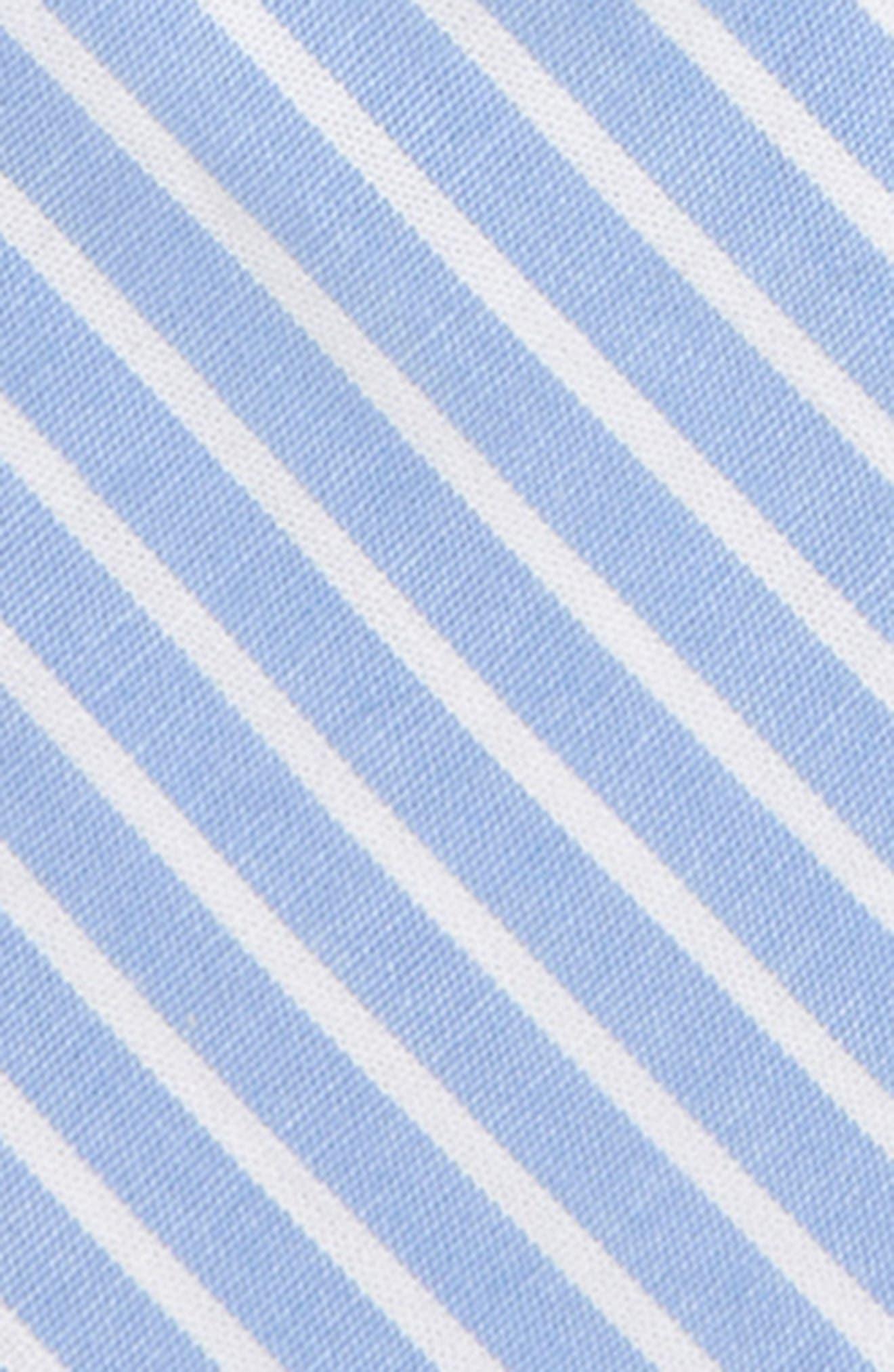 NORDSTROM, Jacob Solid Cotton Zipper Tie, Alternate thumbnail 2, color, 400