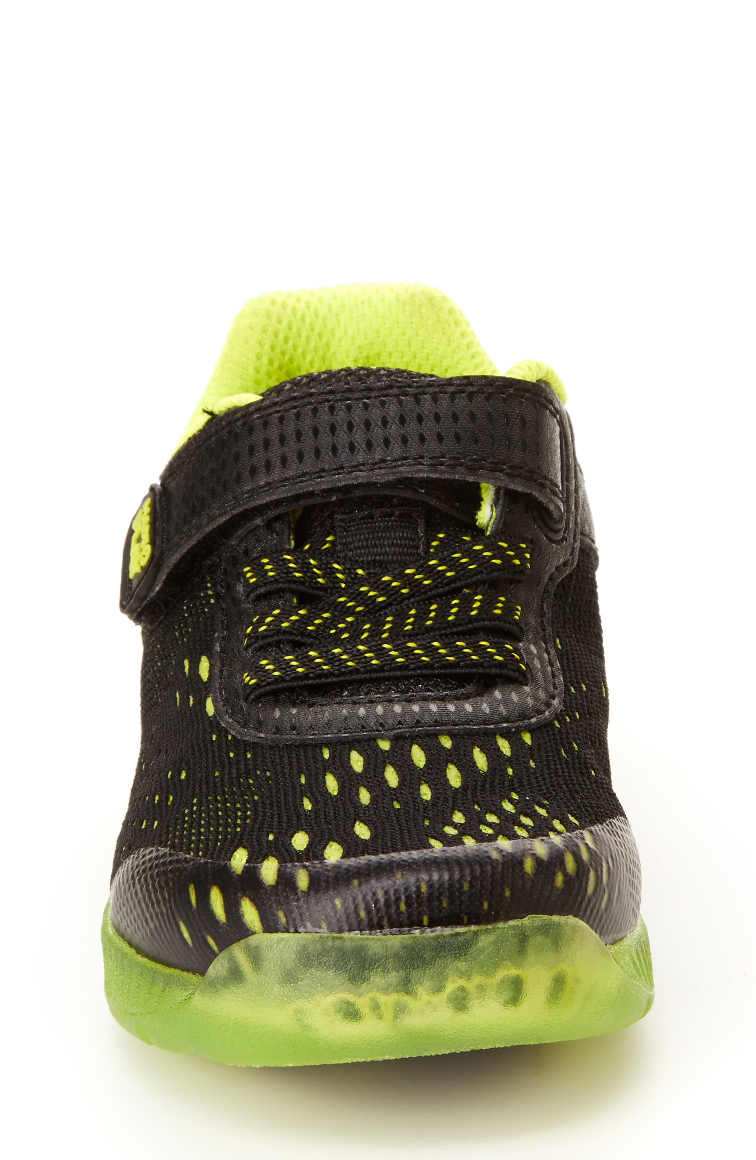STRIDE RITE, Made2Play<sup>®</sup> Neo Light-Up Sneaker, Alternate thumbnail 3, color, 002