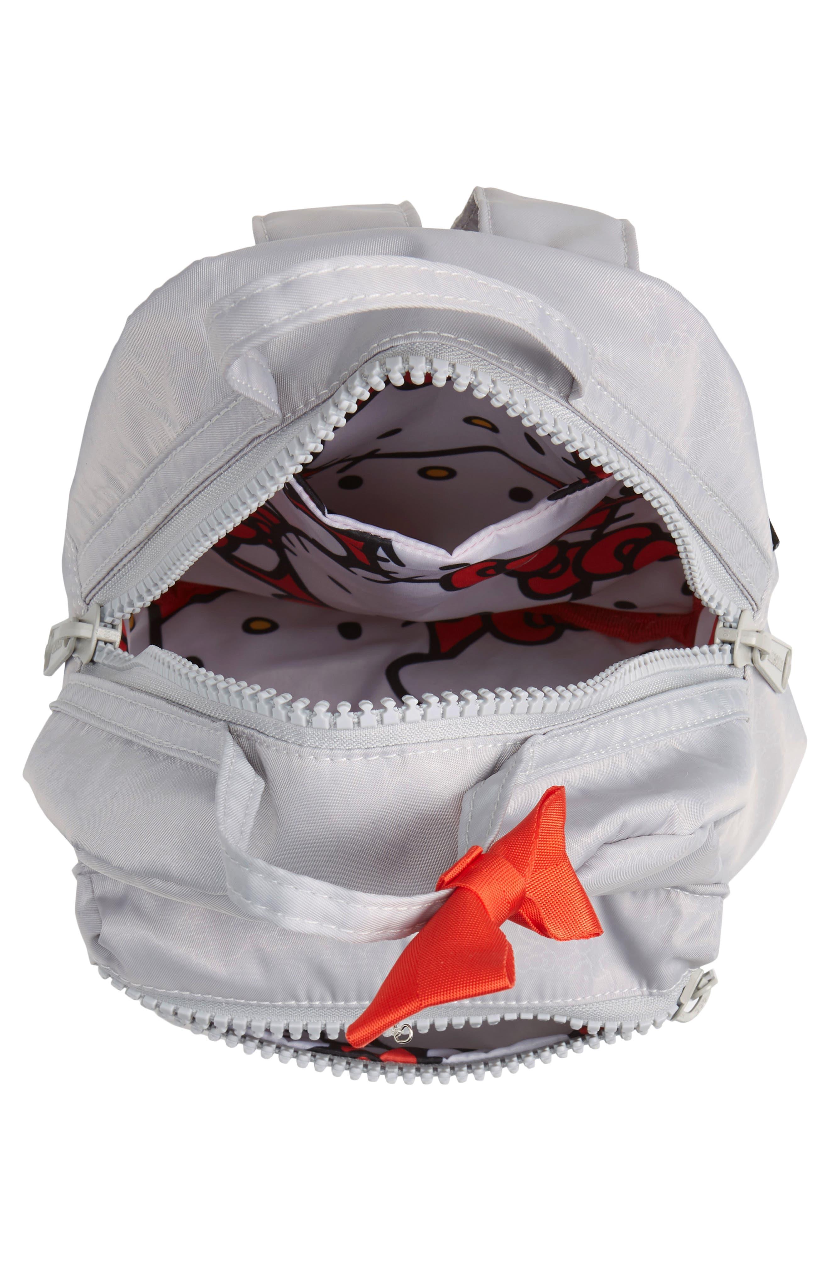 HERSCHEL SUPPLY CO., x Hello Kitty Mini Nova Backpack, Alternate thumbnail 5, color, HIGHRISE
