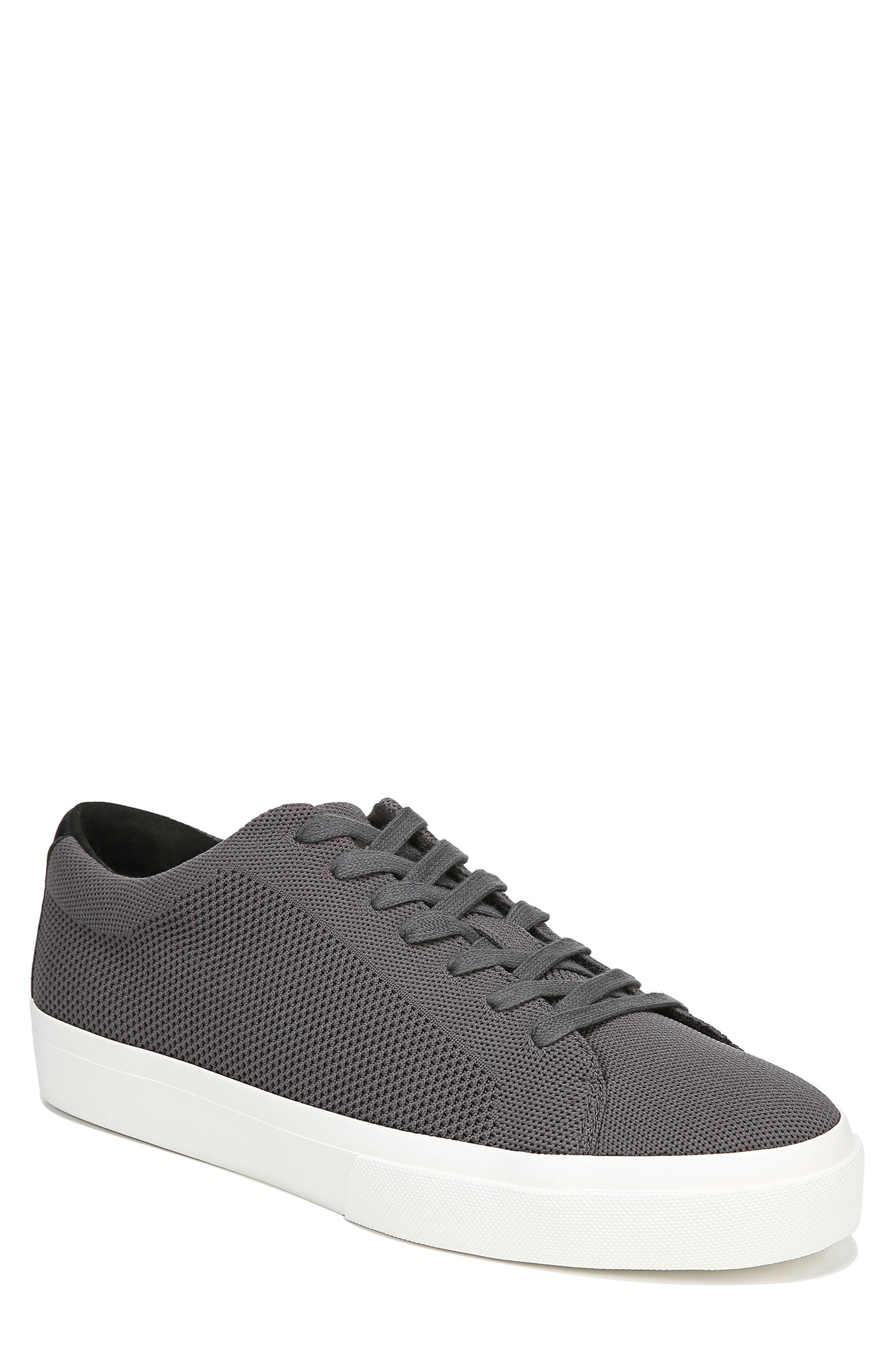 VINCE, Farrell Sneaker, Main thumbnail 1, color, GRAPHITE/ BLACK