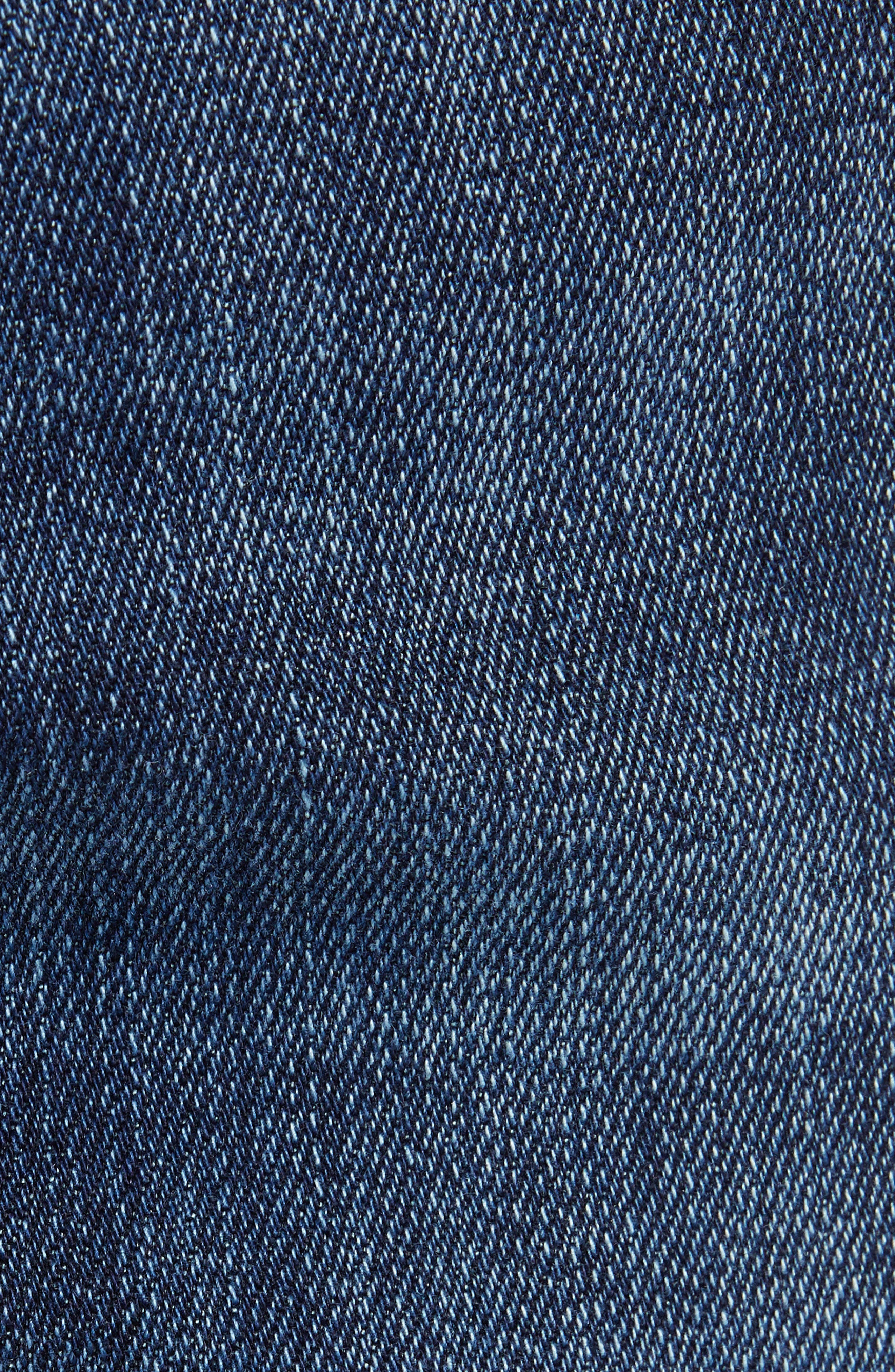 MAVI JEANS, Jake Slim Fit Jeans, Alternate thumbnail 6, color, DARK TONAL WILLIAMSBURG