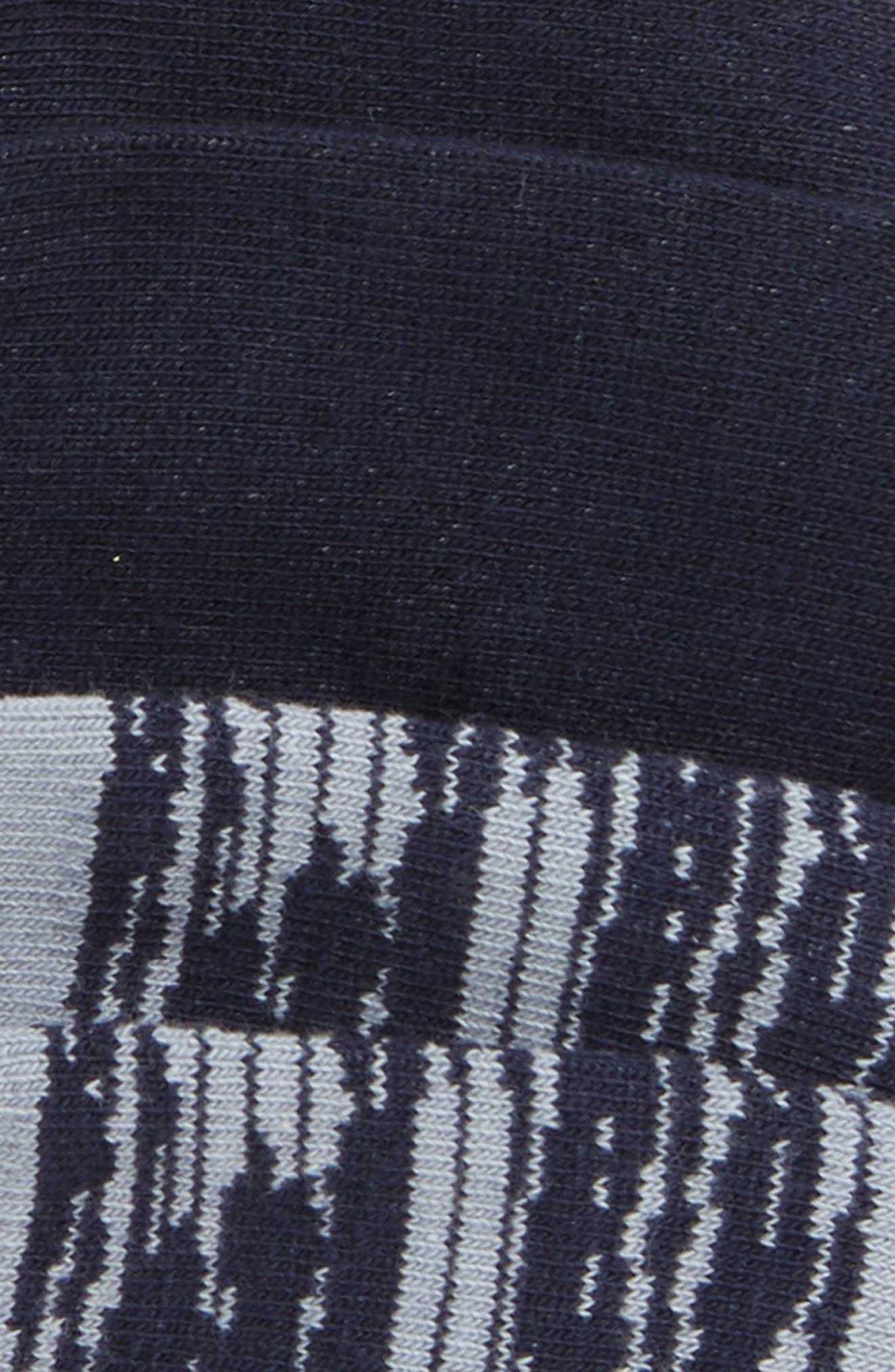 NORDSTROM MEN'S SHOP, Assorted 2-Pack Liner Socks, Alternate thumbnail 2, color, GREY/ NAVY