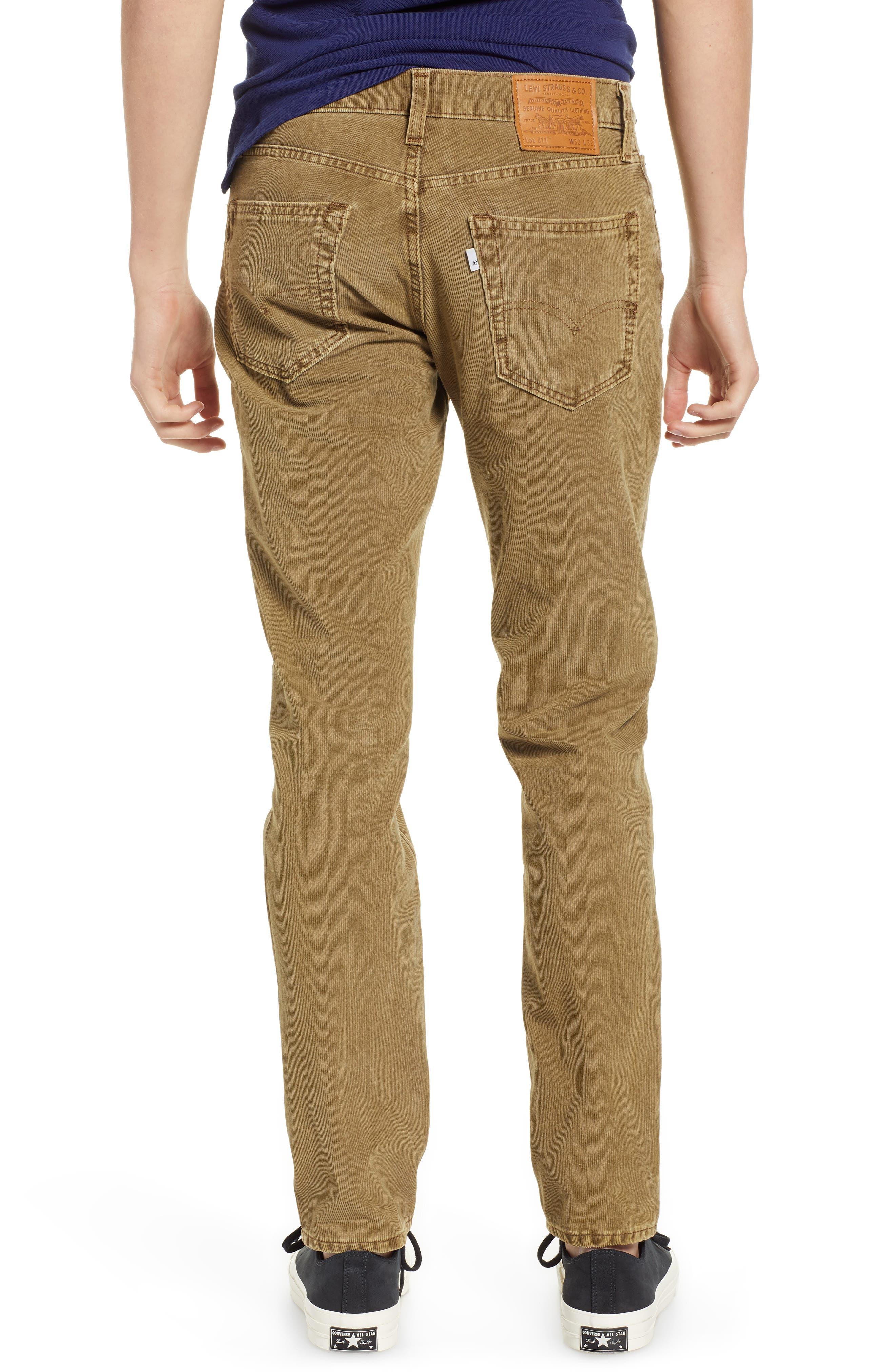 LEVI'S<SUP>®</SUP>, 511<sup>™</sup> Slim Fit Corduroy Pants, Alternate thumbnail 2, color, 240
