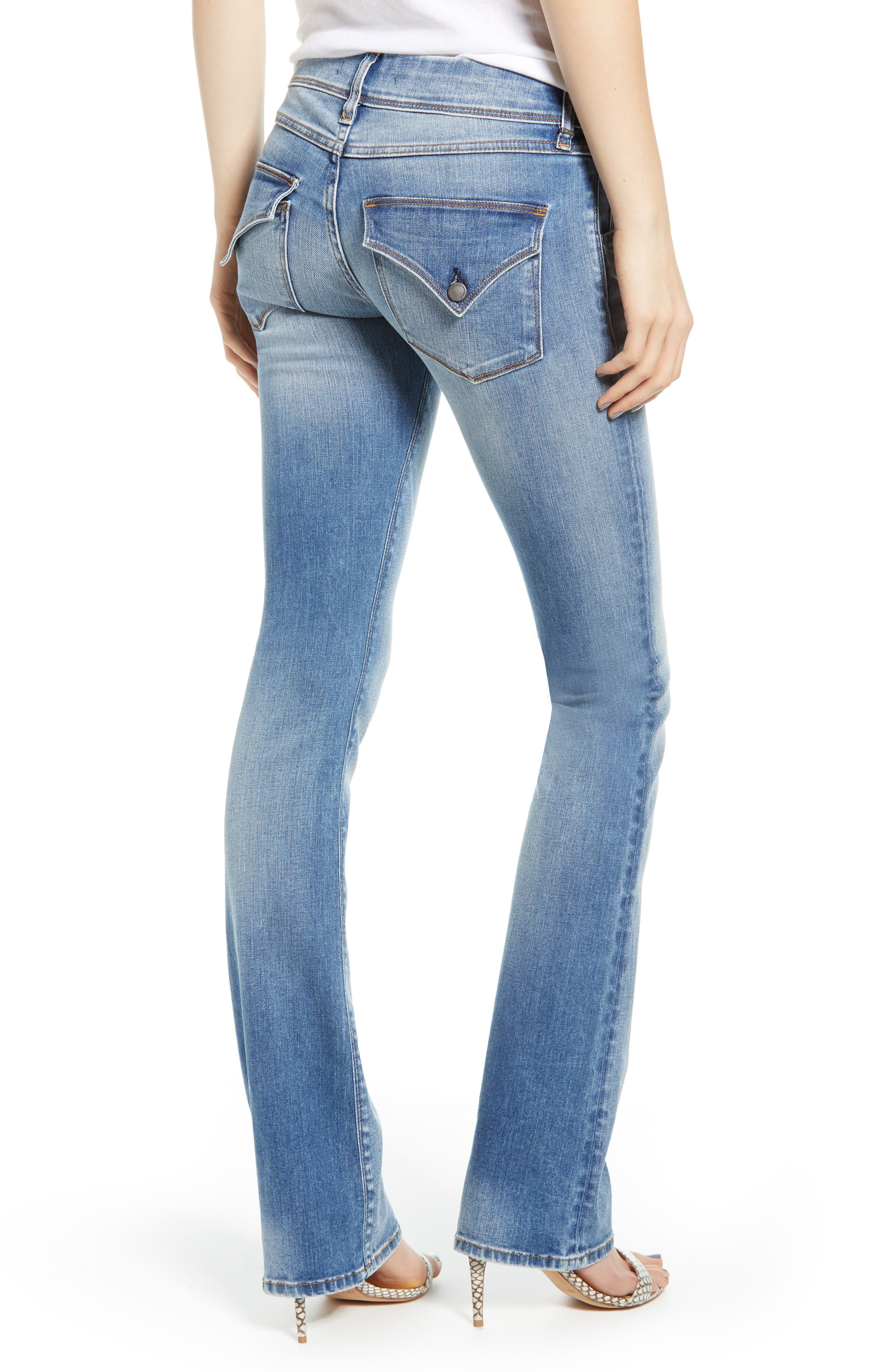 HUDSON JEANS, Beth Baby Bootcut Jeans, Alternate thumbnail 2, color, PREPARTY