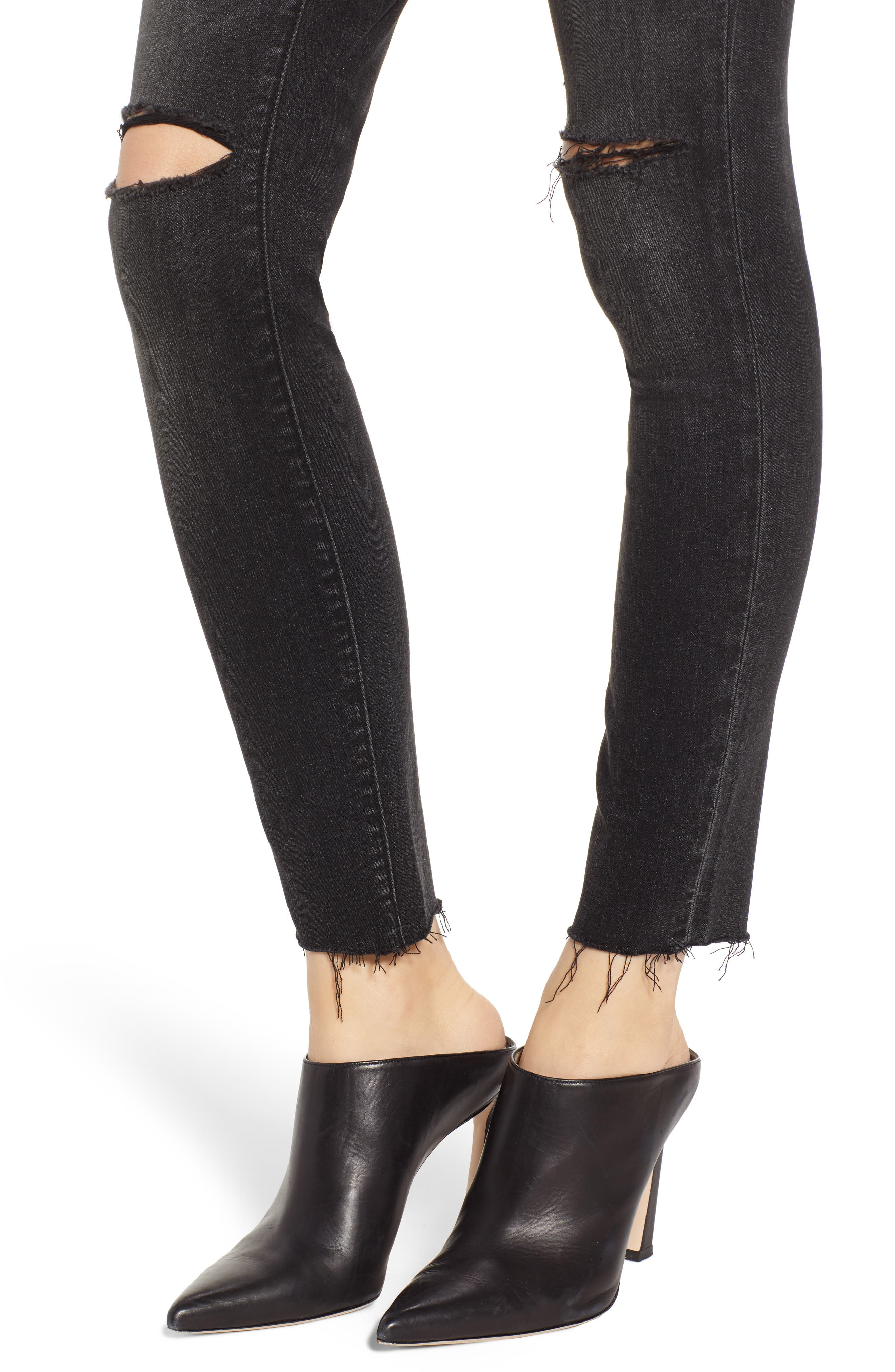 BLANKNYC, The Bond Skinny Jeans, Alternate thumbnail 5, color, 001