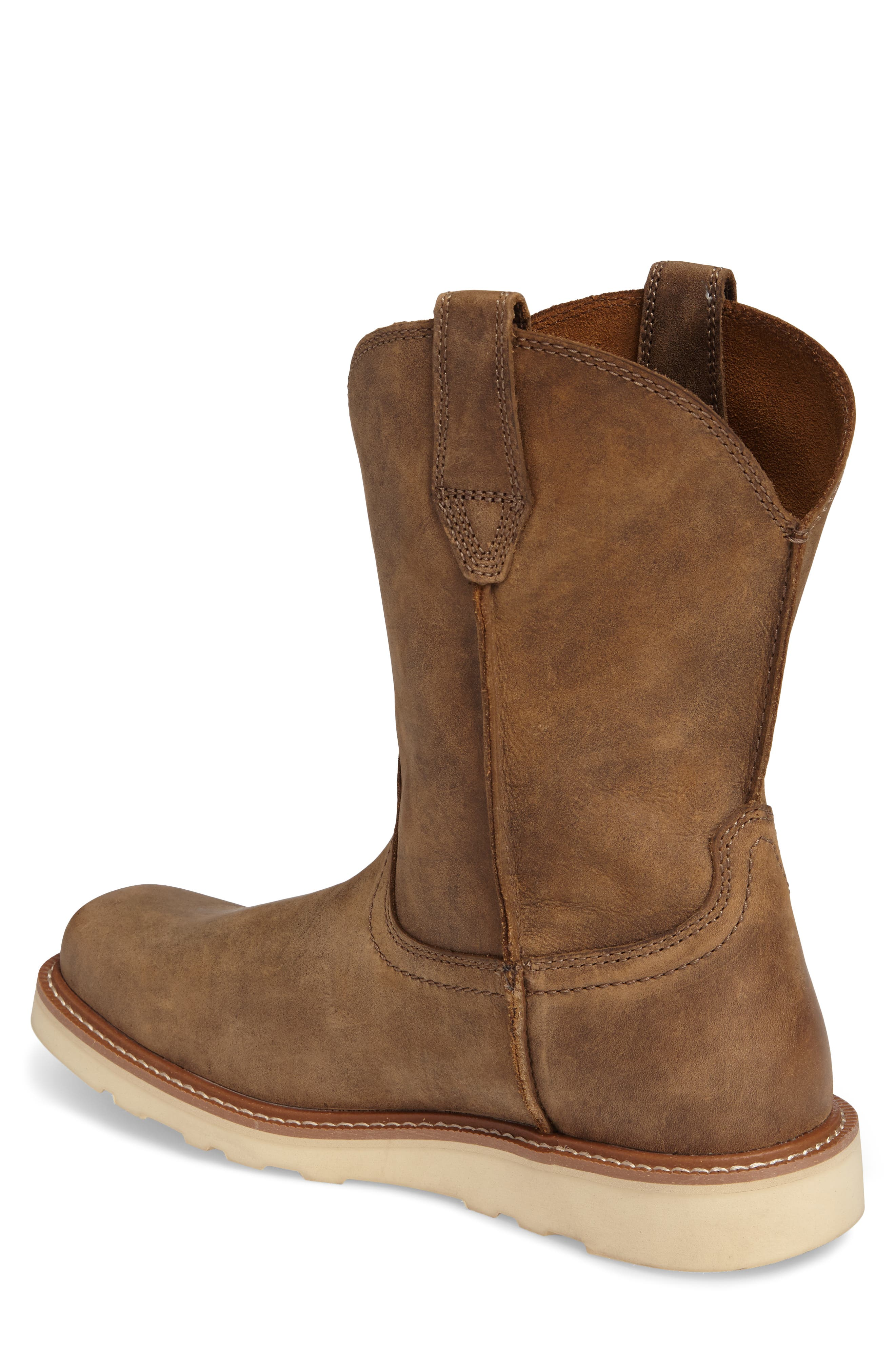 ARIAT, Rambler Tall Boot, Alternate thumbnail 2, color, BROWN BOMBER LEATHER