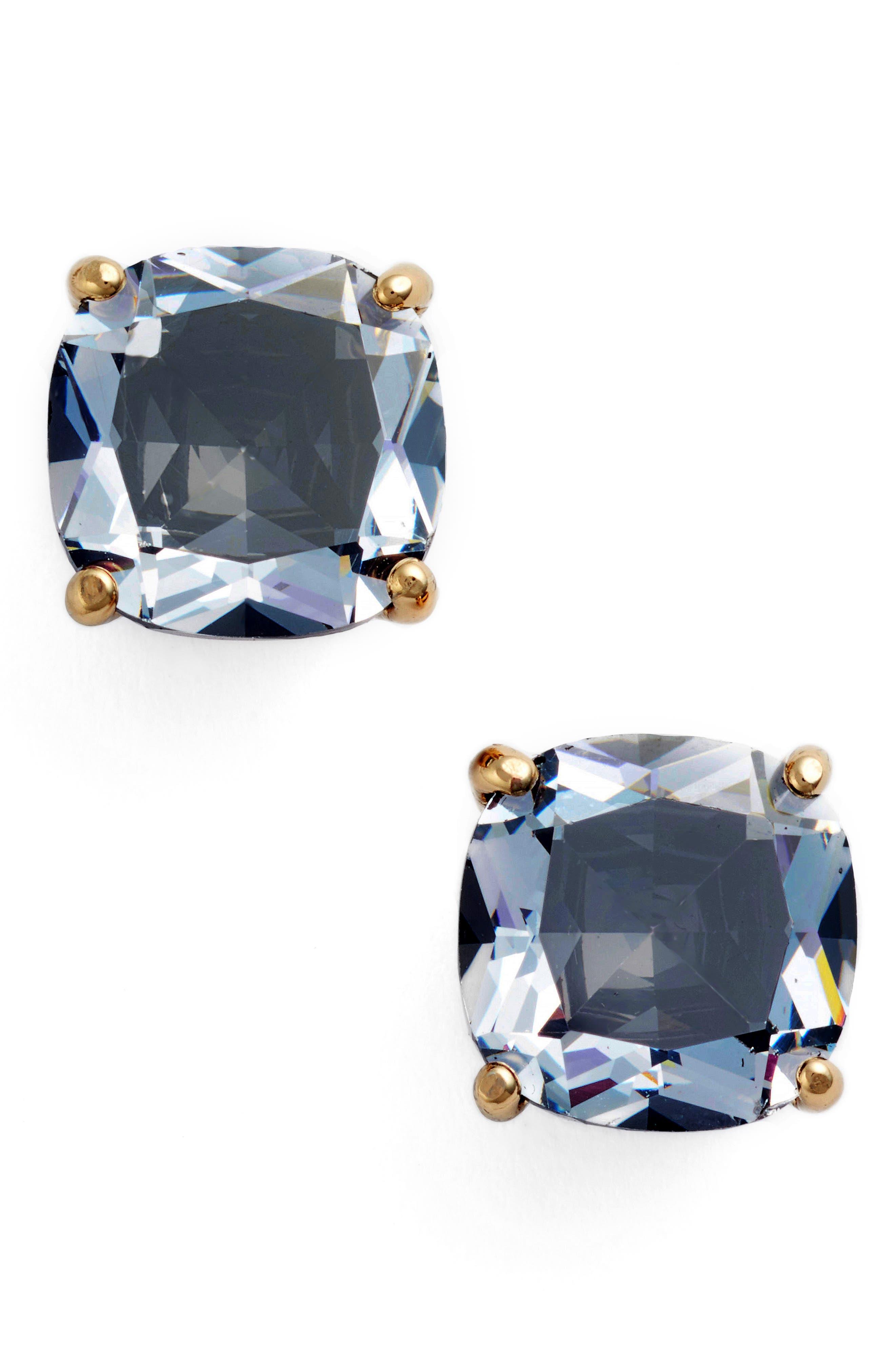 KATE SPADE NEW YORK, mini stud earrings, Main thumbnail 1, color, 001