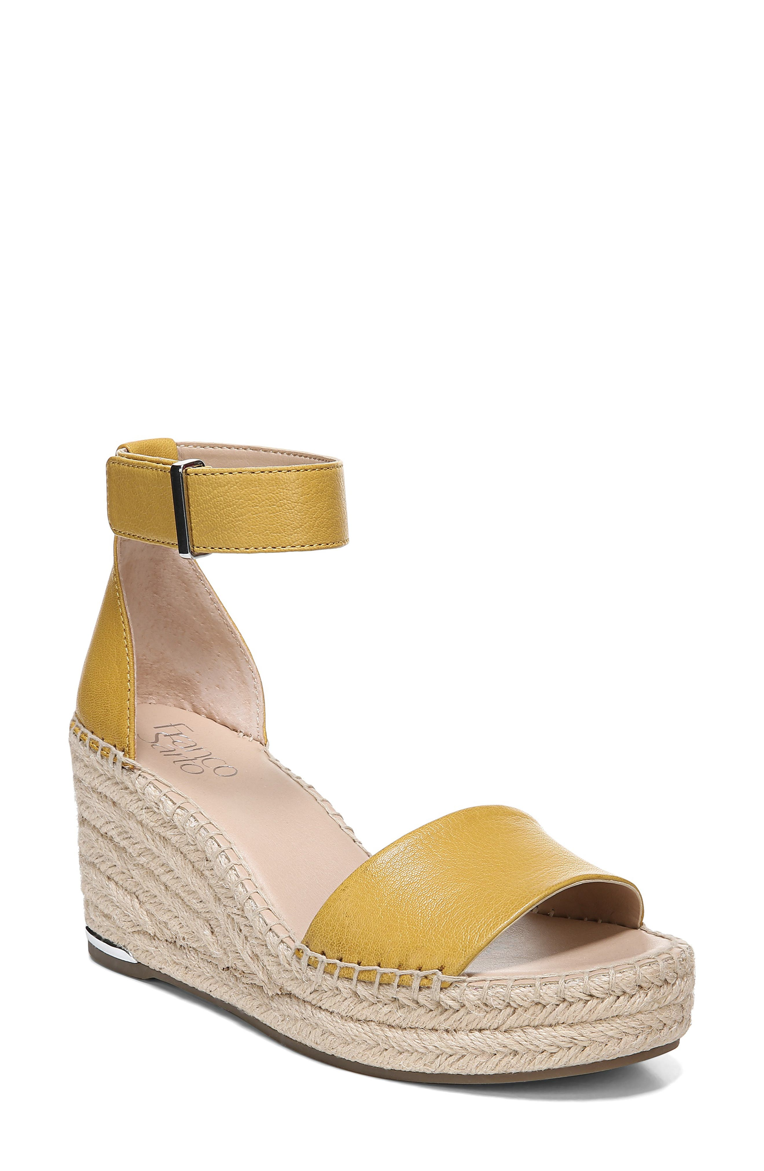a117d1549501 Franco Sarto Clemens Espadrille Wedge Sandal