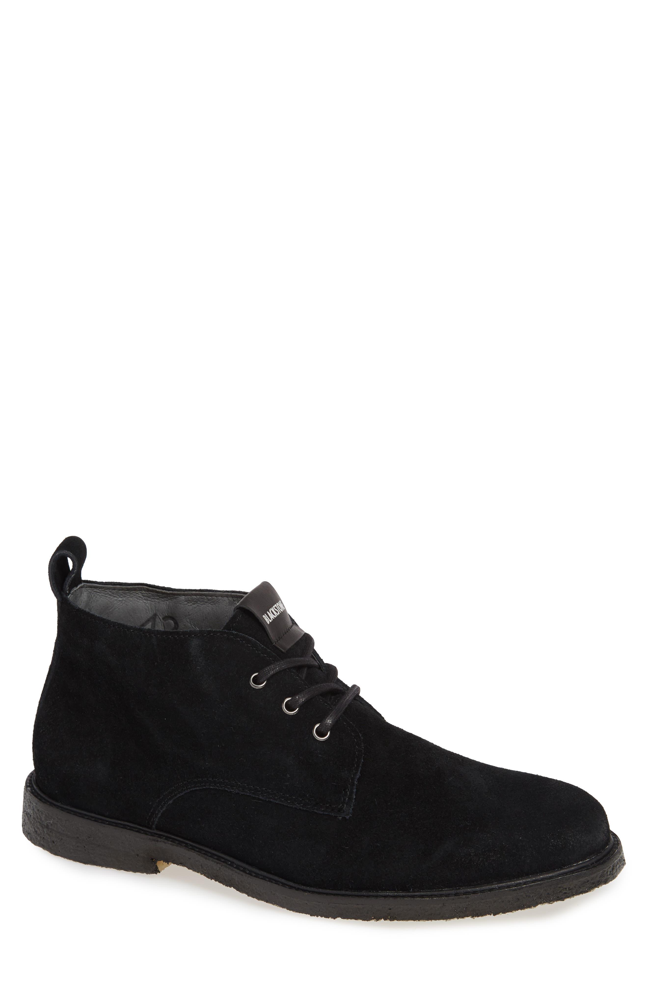 Blackstone Qm82 Chukka Boot, Black