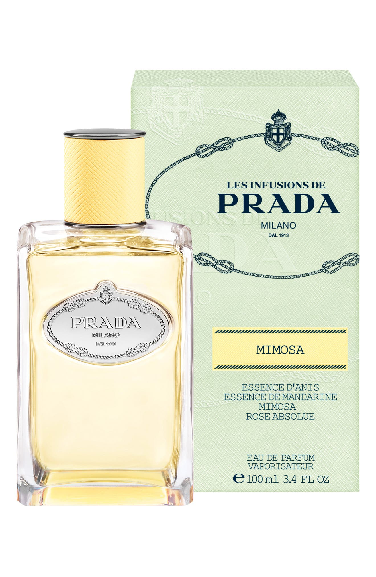 PRADA, Les Infusions Mimosa Eau de Parfum, Alternate thumbnail 2, color, NO COLOR