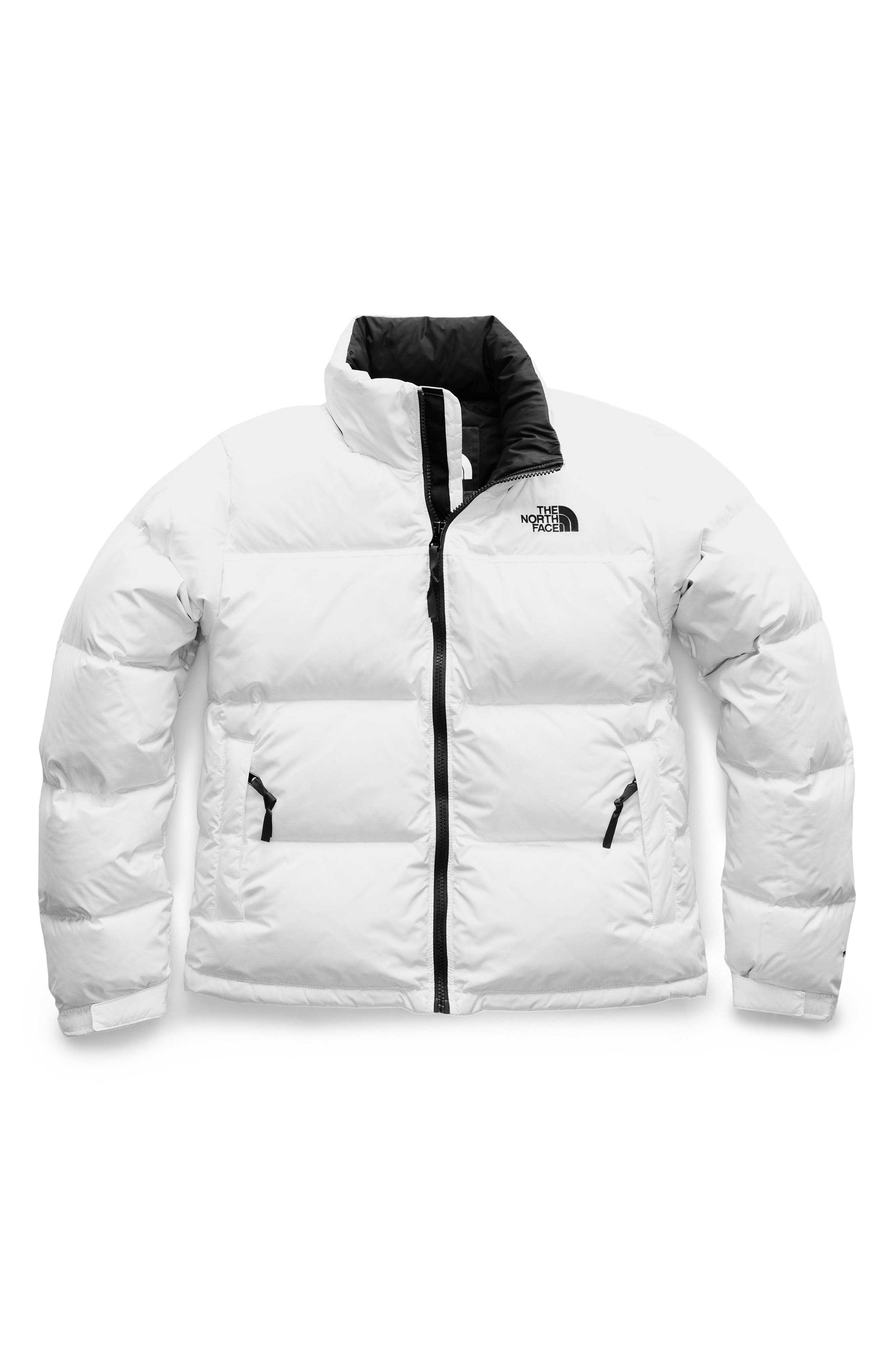 THE NORTH FACE, Nuptse 1996 Packable Quilted Down Jacket, Alternate thumbnail 5, color, TNF WHITE