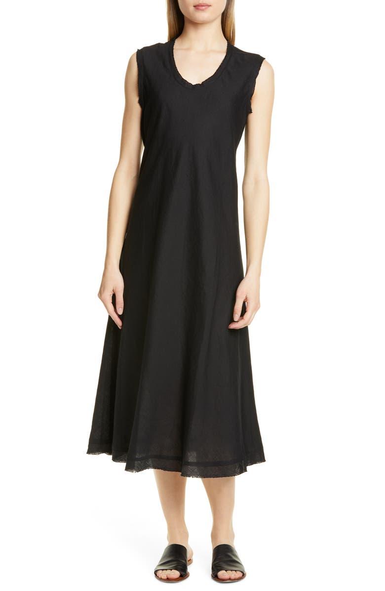 0e5c18adc18b38 Eileen Fisher Shaped Sleeveless Linen Tank Dress (Regular   Petite ...