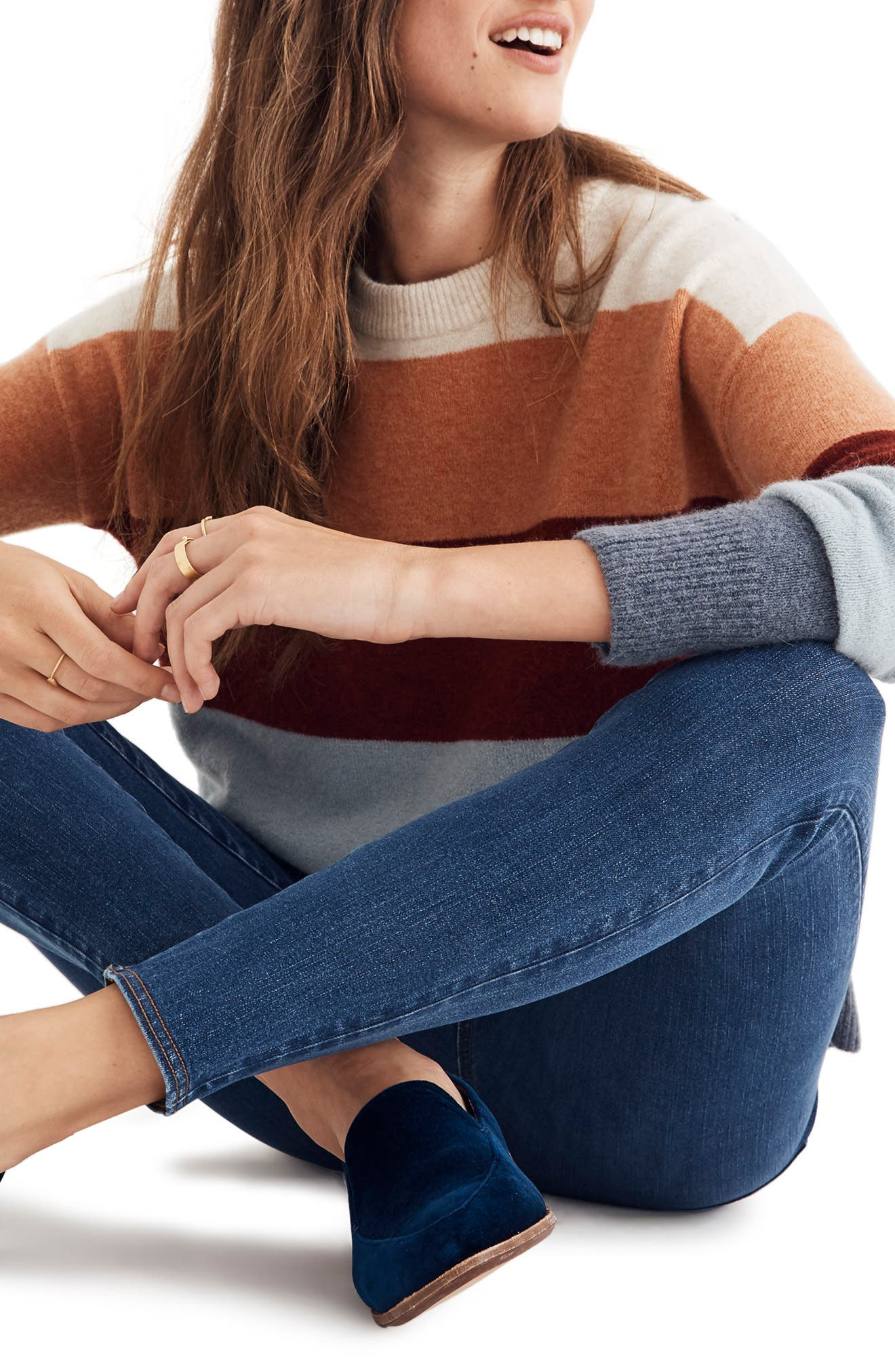 MADEWELL Pull-On Jeans, Main, color, FREEBURG
