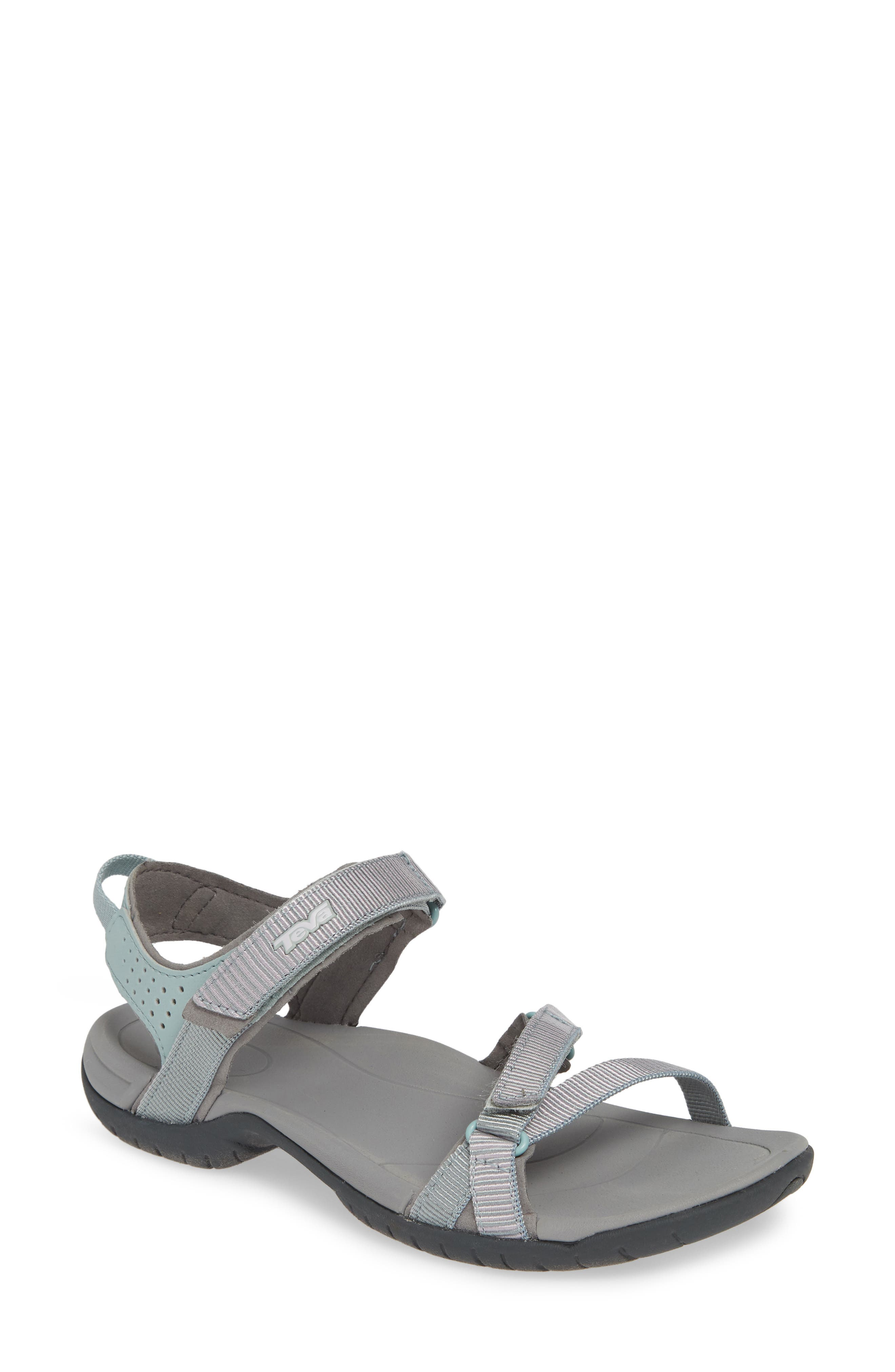 TEVA 'Verra' Sandal, Main, color, GRAY MIST FABRIC