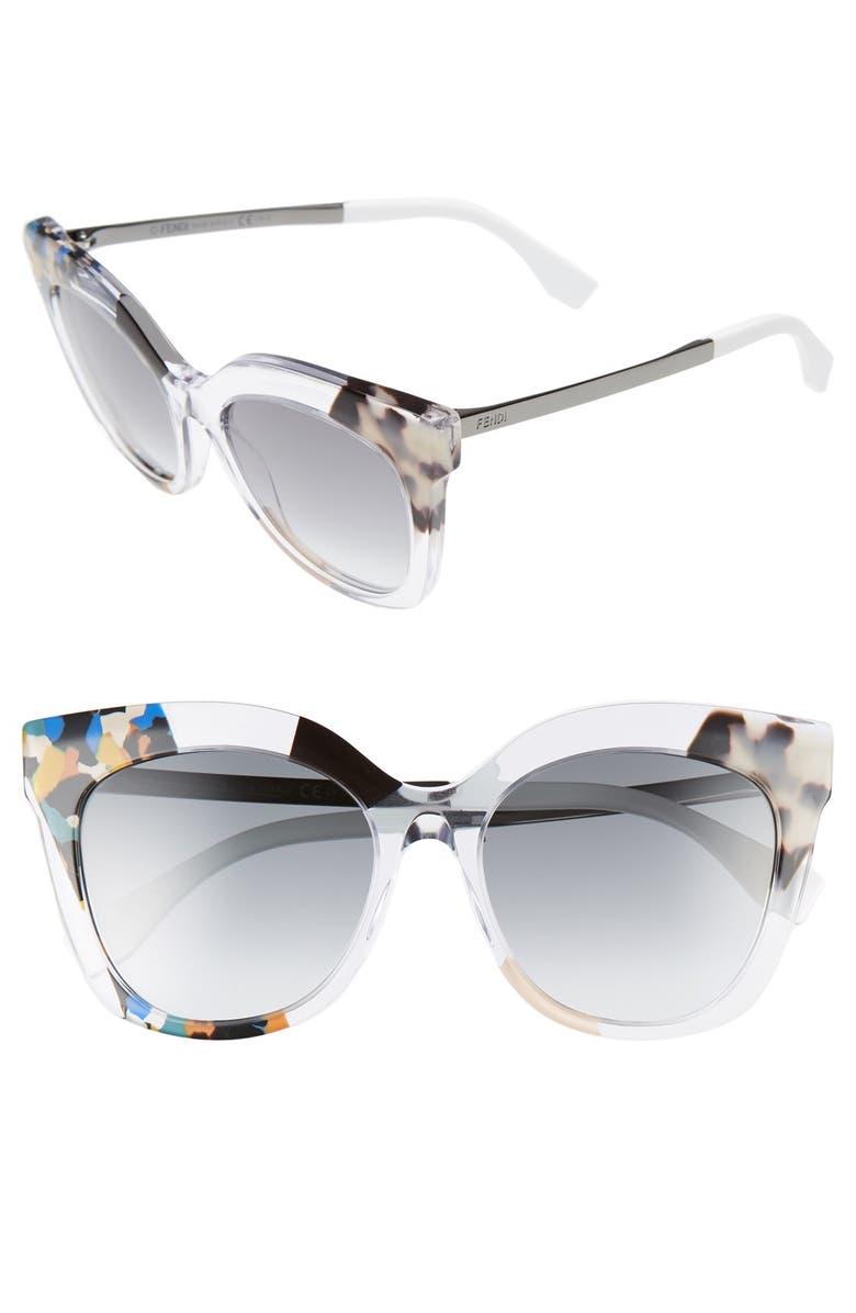 fb3aa94be15f Fendi 53mm Retro Sunglasses