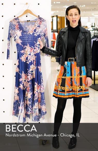 Asymmetrical Charmeuse & Chiffon Dress, sales video thumbnail