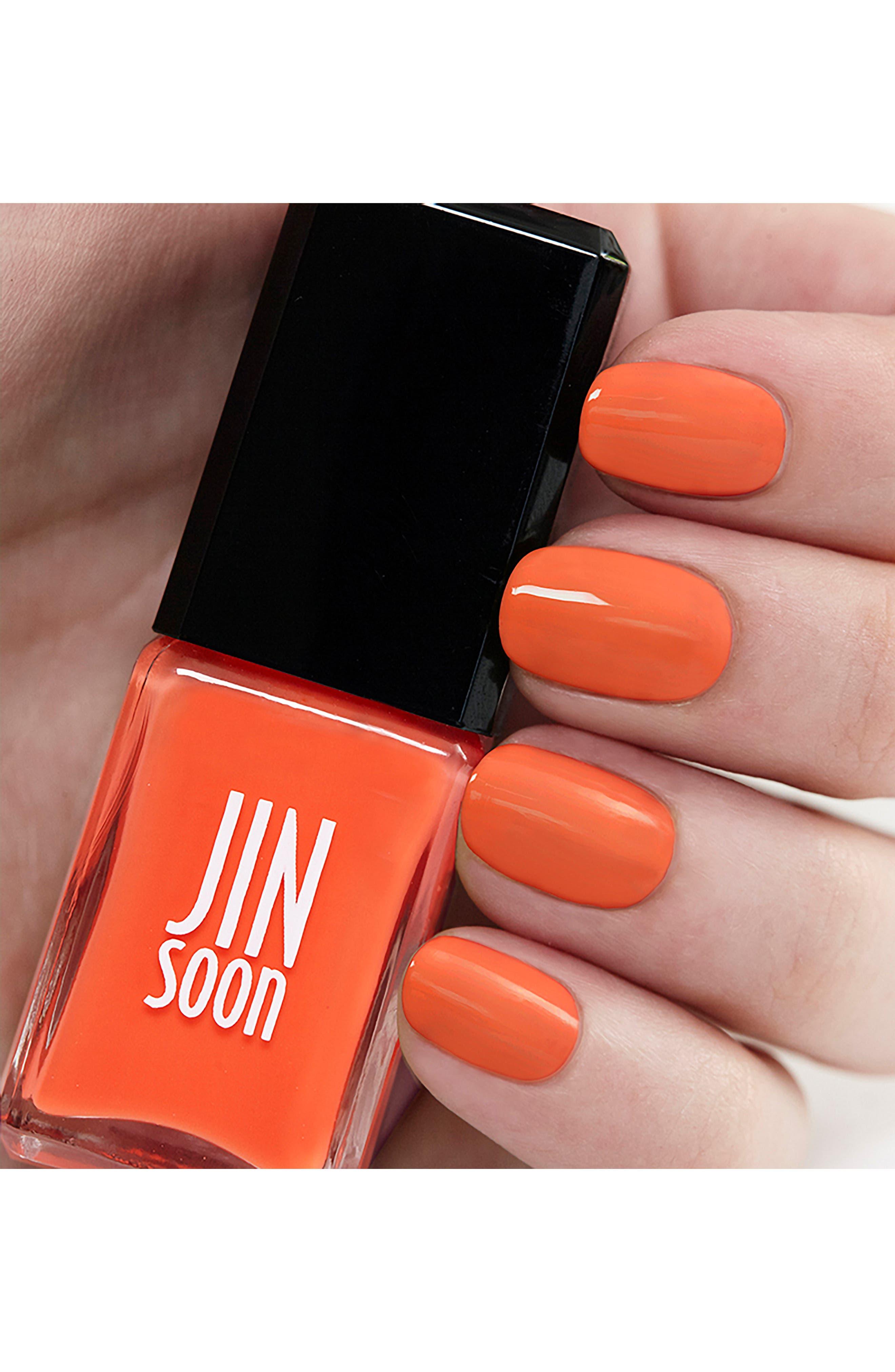 JINSOON, 'Enflammée' Nail Polish, Alternate thumbnail 2, color, 800
