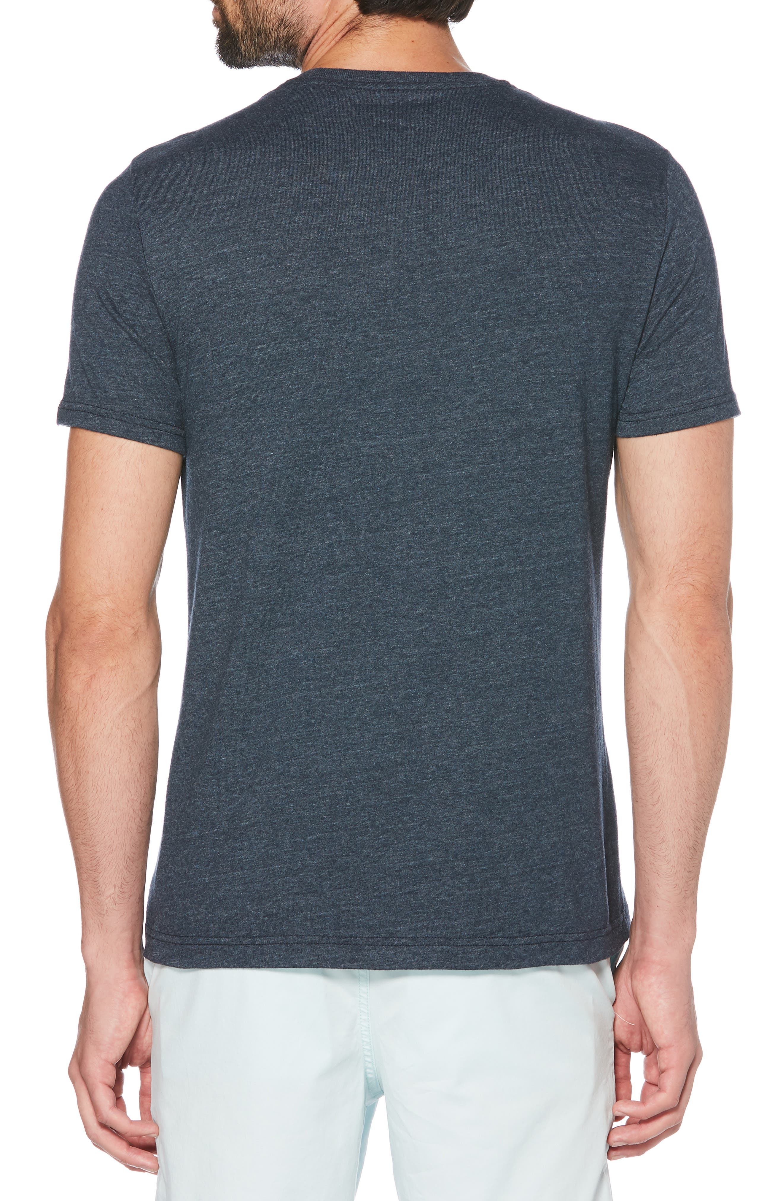 ORIGINAL PENGUIN, I Tried T-Shirt, Alternate thumbnail 2, color, DARK SAPPHIRE