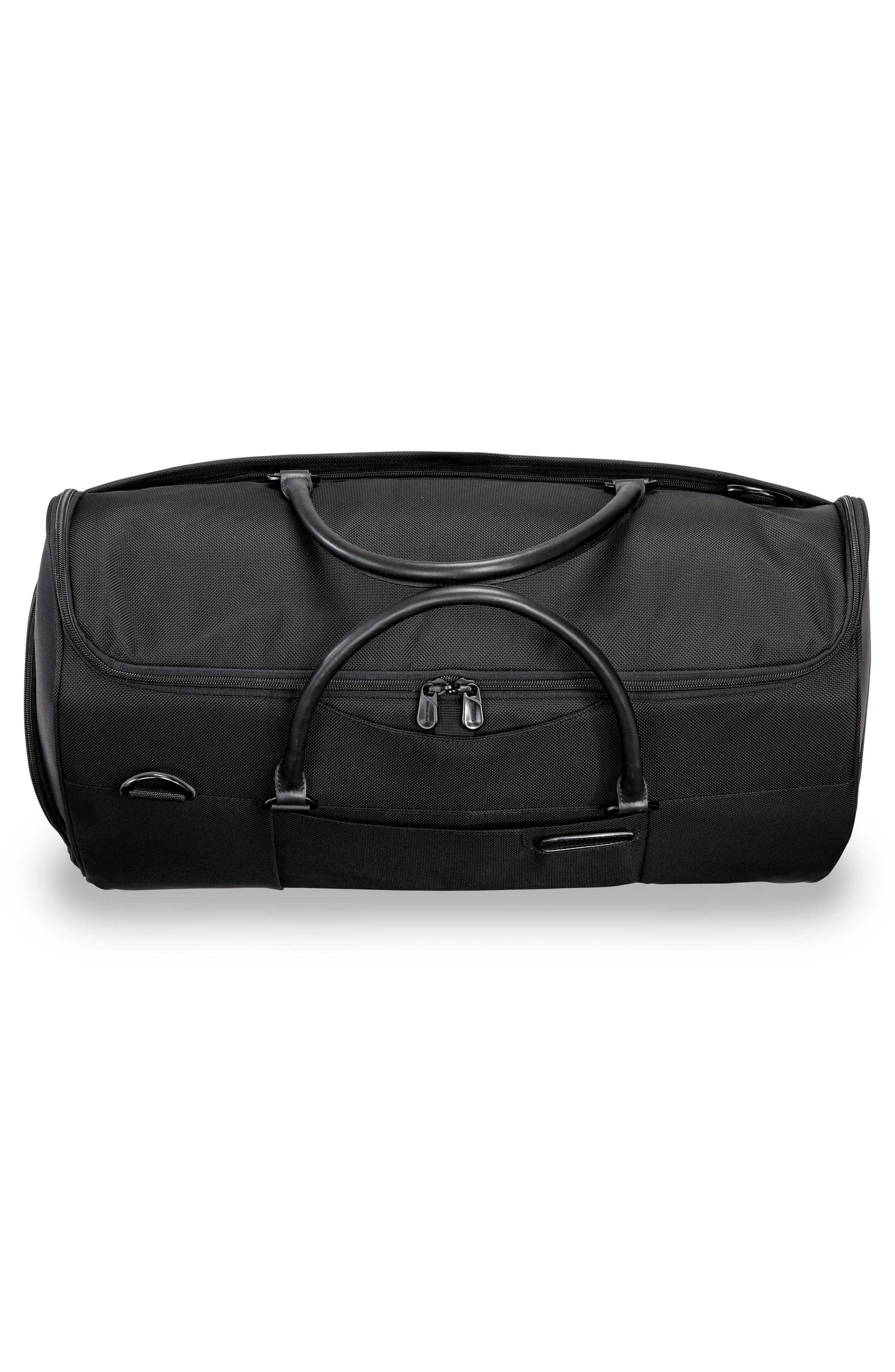 BRIGGS & RILEY, Baseline Suiter Duffle Bag, Alternate thumbnail 8, color, BLACK