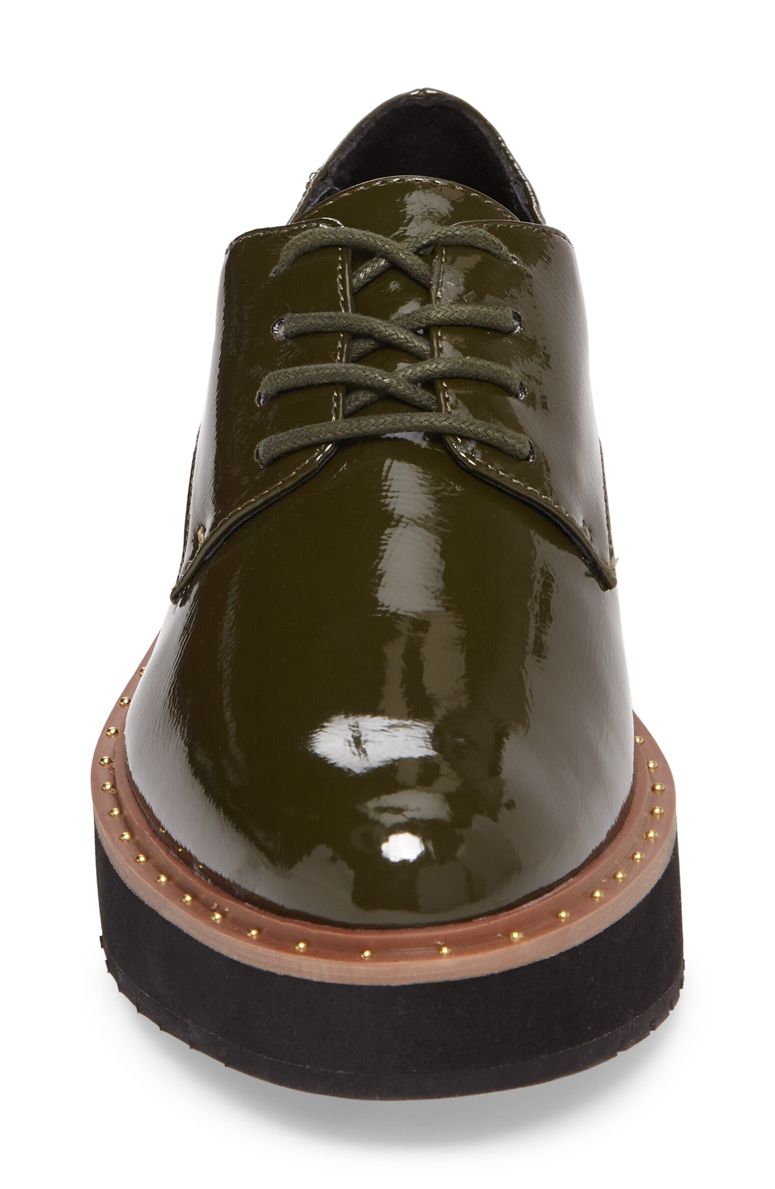 CHINESE LAUNDRY, Cecilia Platform Oxford, Alternate thumbnail 4, color, OLIVE