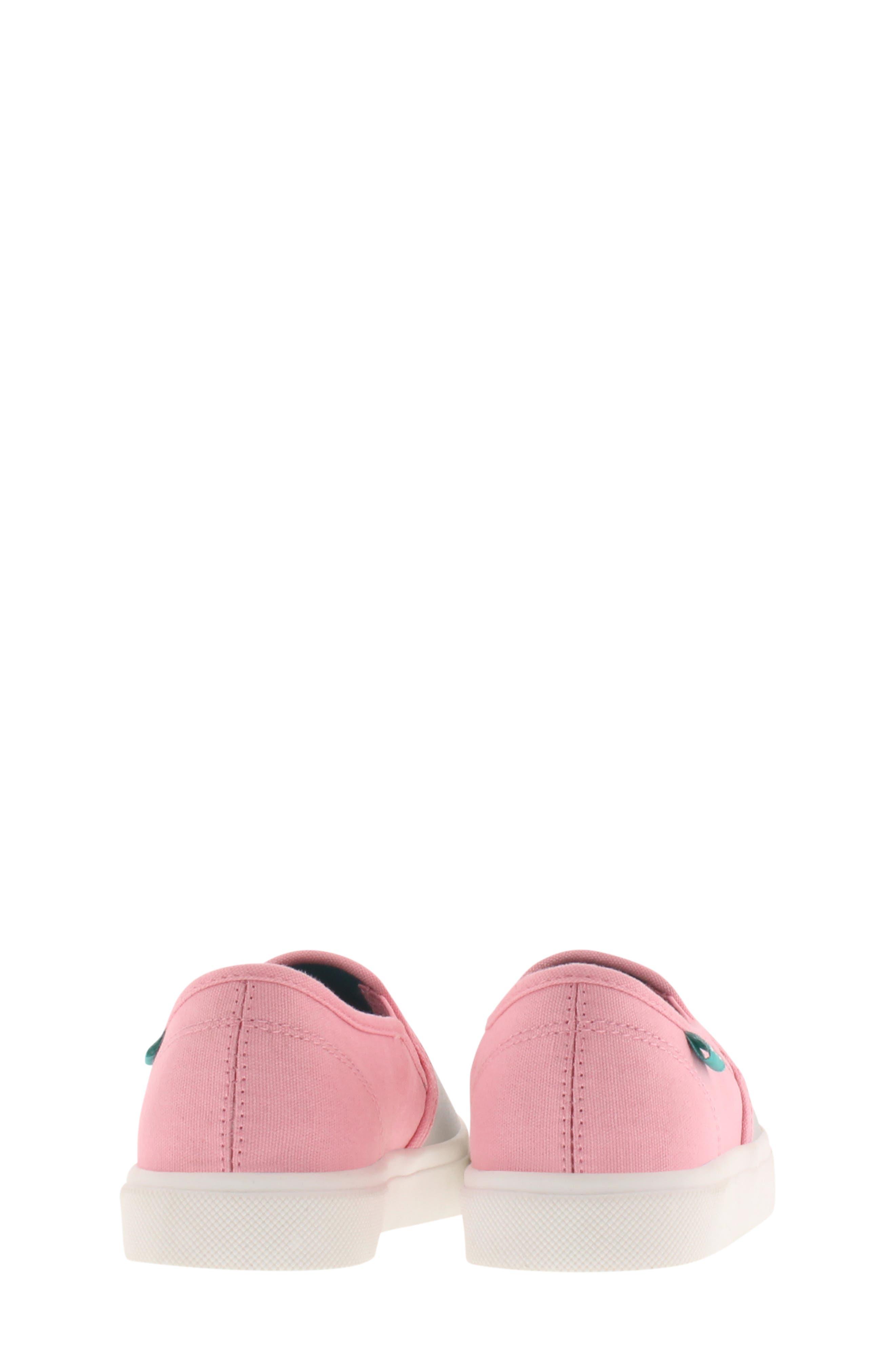 CHOOZE, Little Choice Starheart Slip-On Sneaker, Alternate thumbnail 7, color, SILVER