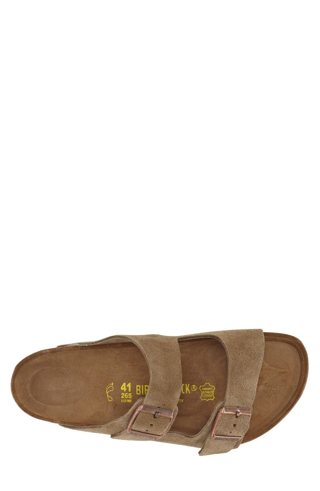 BIRKENSTOCK, 'Arizona' Sandal, Alternate thumbnail 10, color, TAUPE