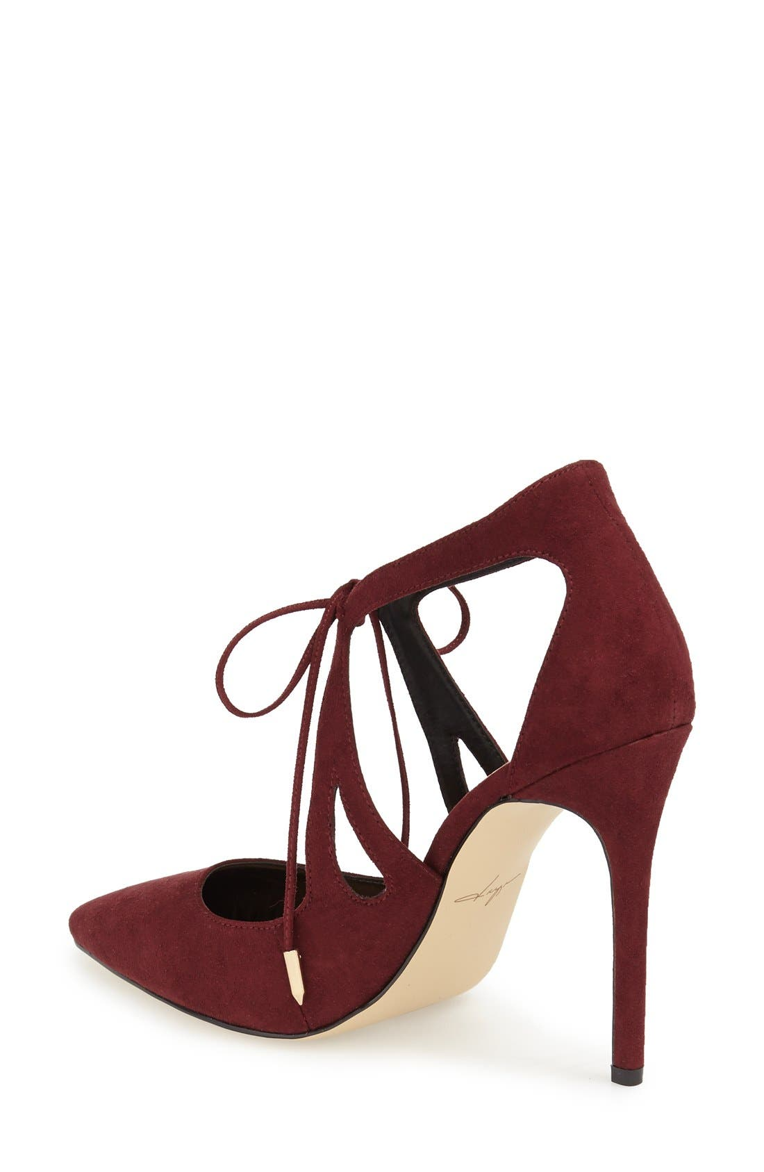 DAYA, by Zendaya 'Aaron' Pointy Toe Pump, Alternate thumbnail 3, color, 939