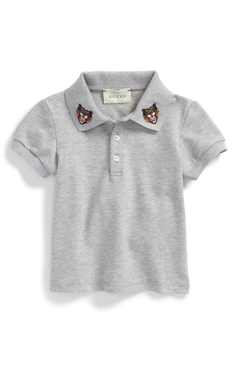 b52b2f0bd Gucci Embroidered Collar Polo (Baby Boys) | Nordstrom