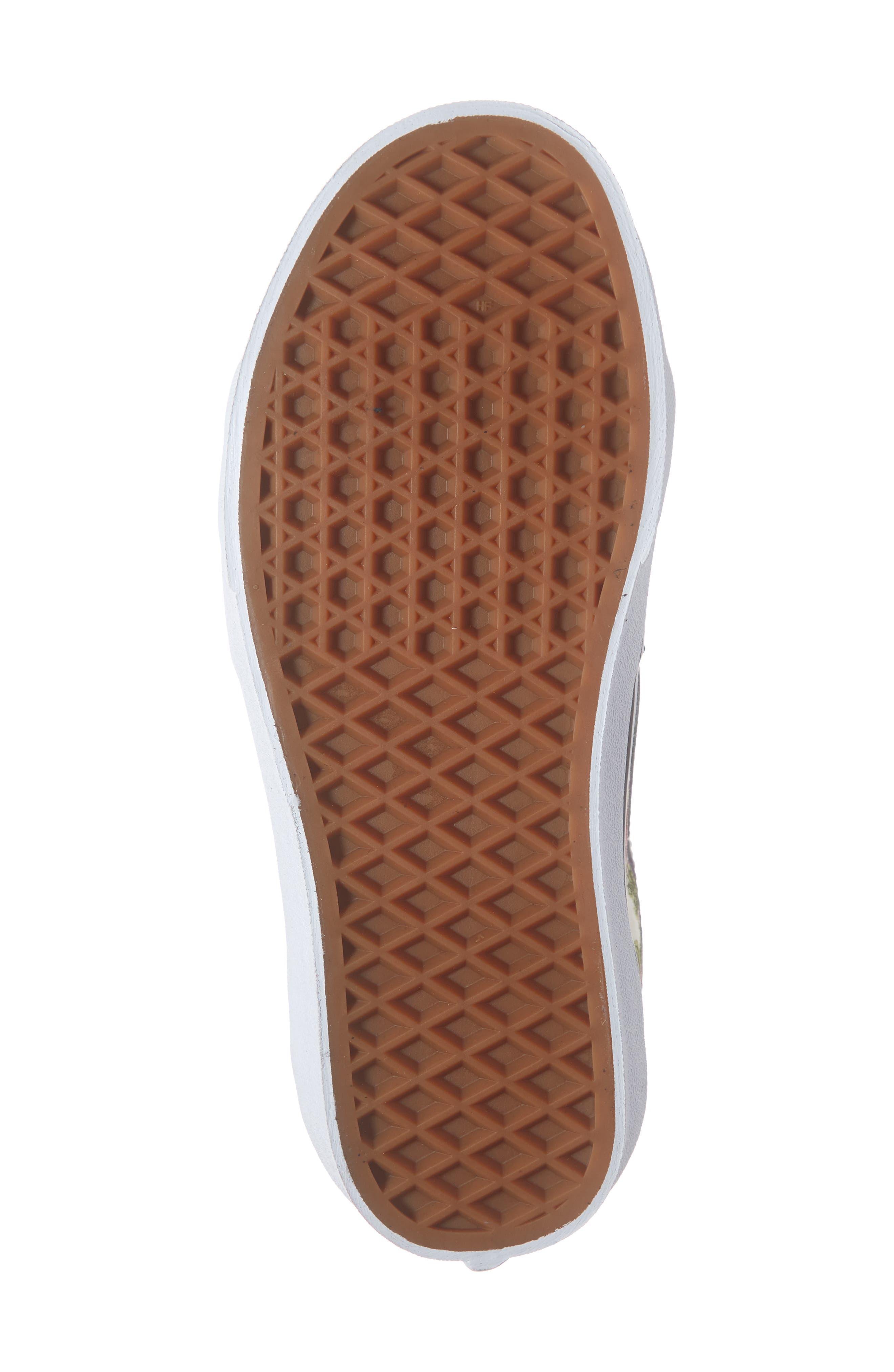 VANS, Sk8-Hi Floral Sneaker, Alternate thumbnail 6, color, FLORAL MULTI/ TRUE WHITE