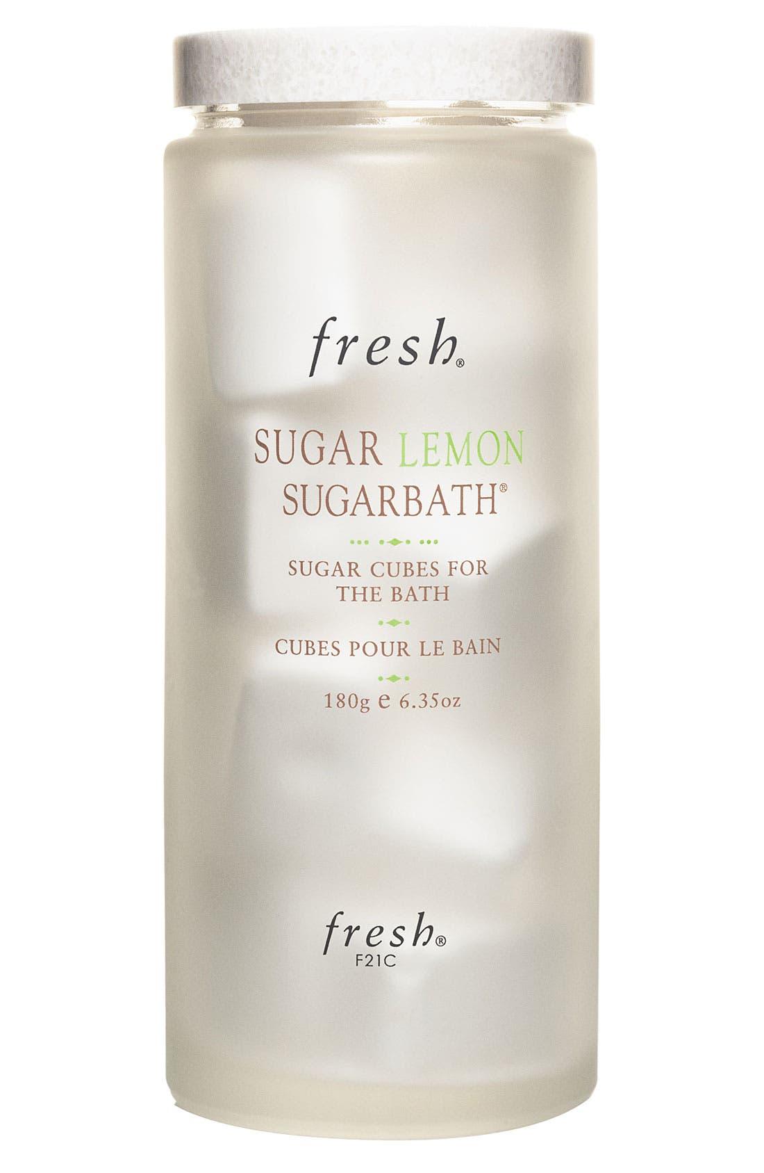 FRESH<SUP>®</SUP>, Sugar Lemon Bath Cubes, Main thumbnail 1, color, NO COLOR