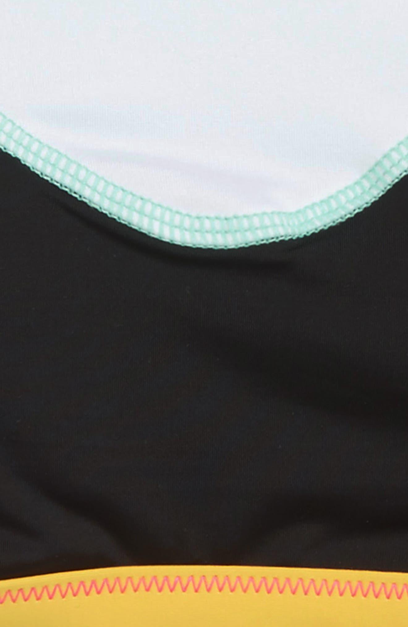 HOBIE, Stitch Perfect Two-Piece Swimsuit, Alternate thumbnail 3, color, BLACK