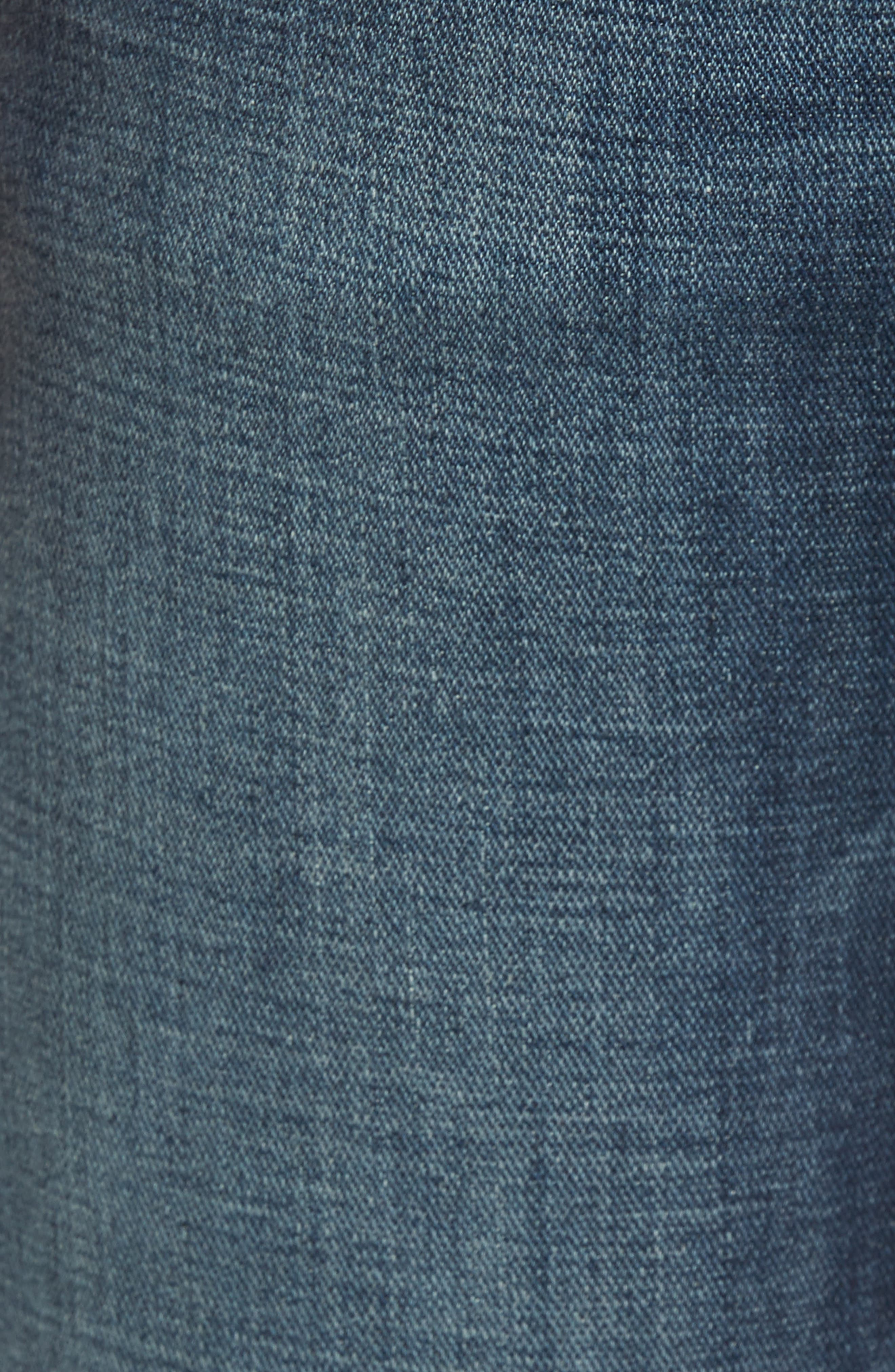 7 FOR ALL MANKIND<SUP>®</SUP>, Brett Bootcut Jeans, Alternate thumbnail 6, color, DARK NEW YORK