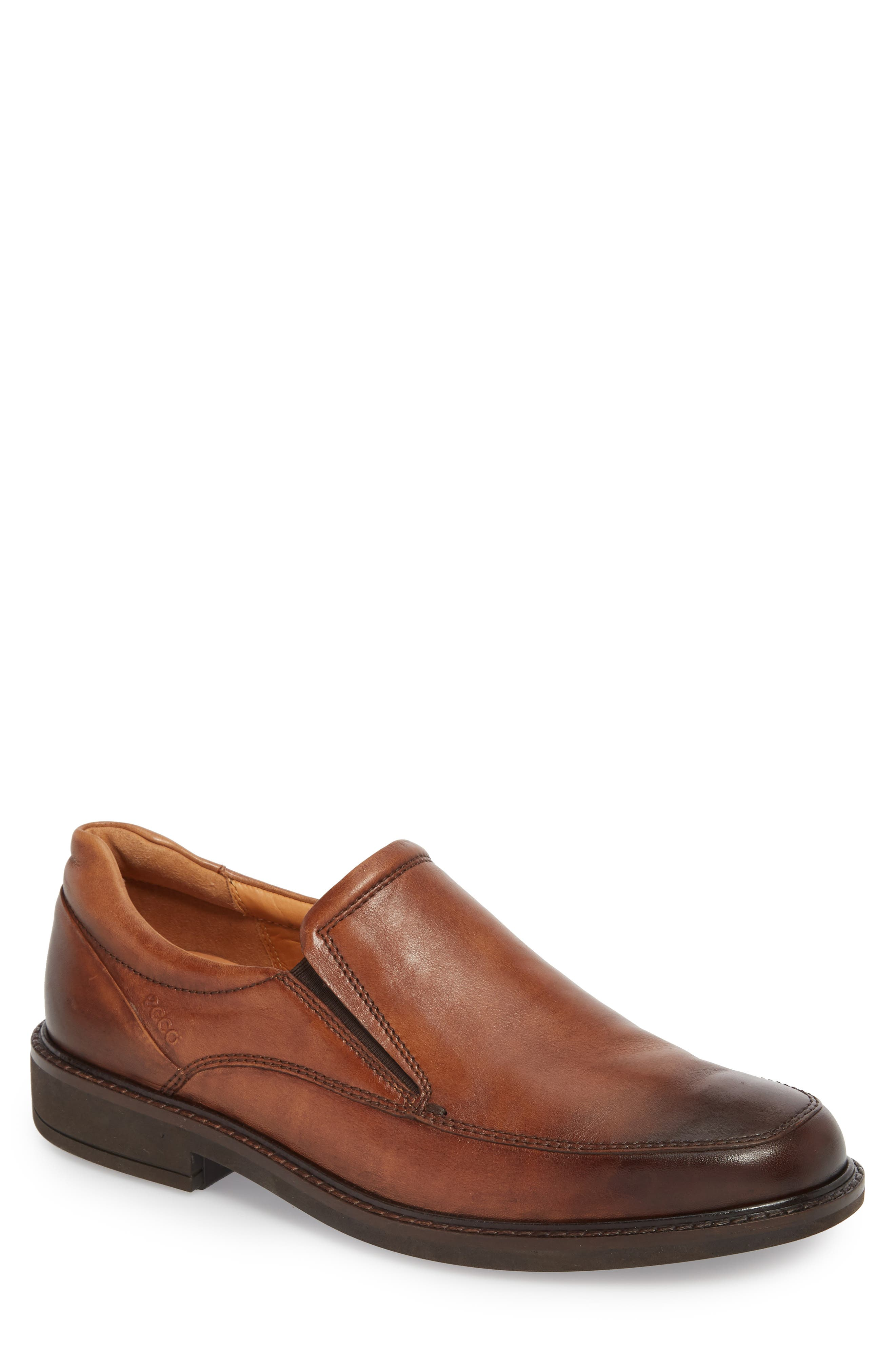 ECCO, Holton Slip-On, Main thumbnail 1, color, AMBER LEATHER