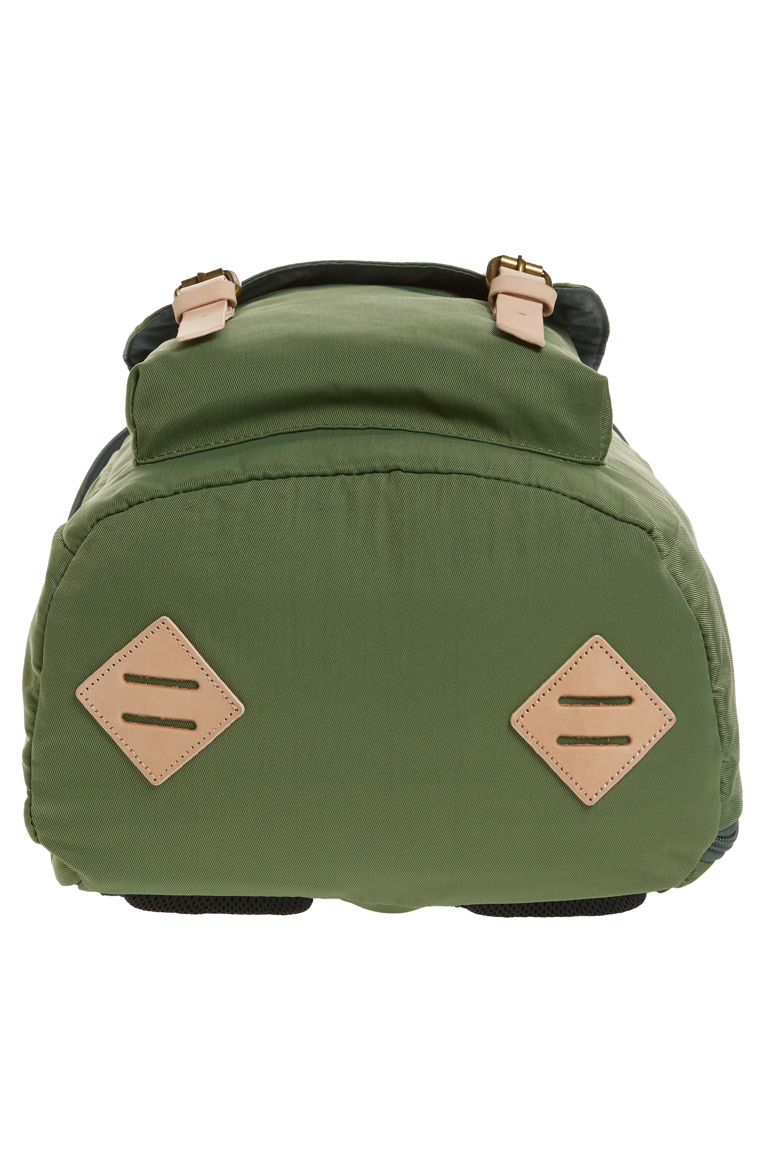 DOUGHNUT, Heritage Water Repellent Backpack, Alternate thumbnail 6, color, ARMY