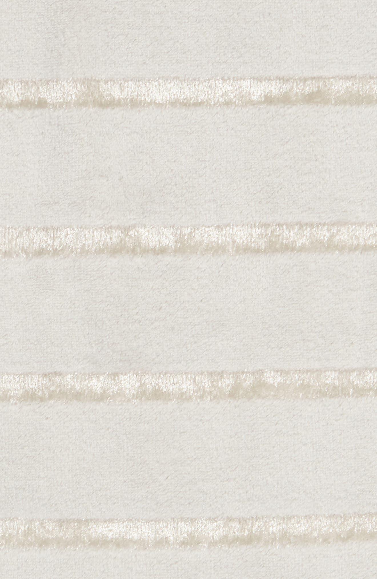 NORDSTROM AT HOME, Shimmer Stripe Throw, Alternate thumbnail 2, color, GREY VAPOR