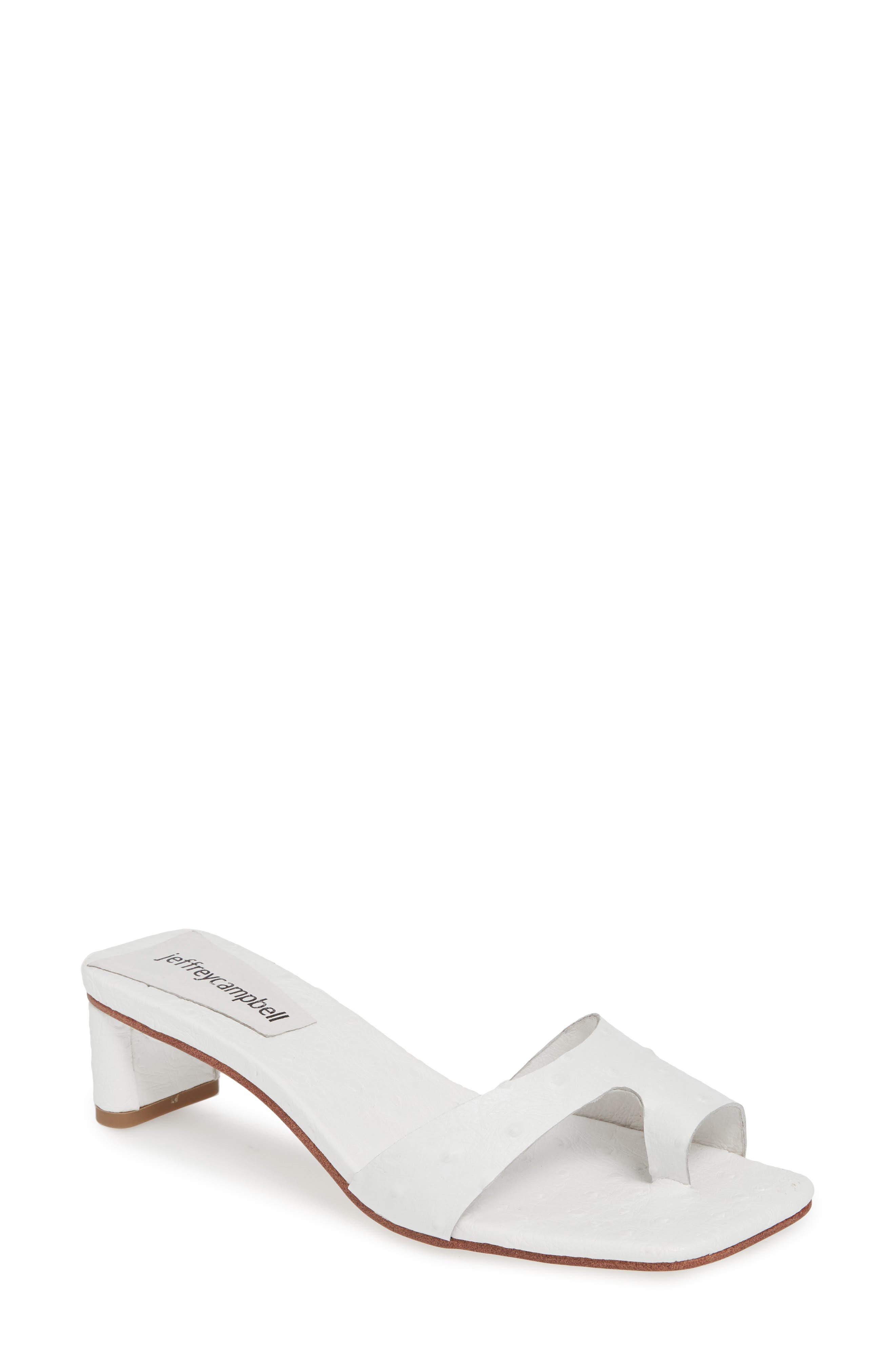 JEFFREY CAMPBELL Teclado Slide Sandal, Main, color, 121