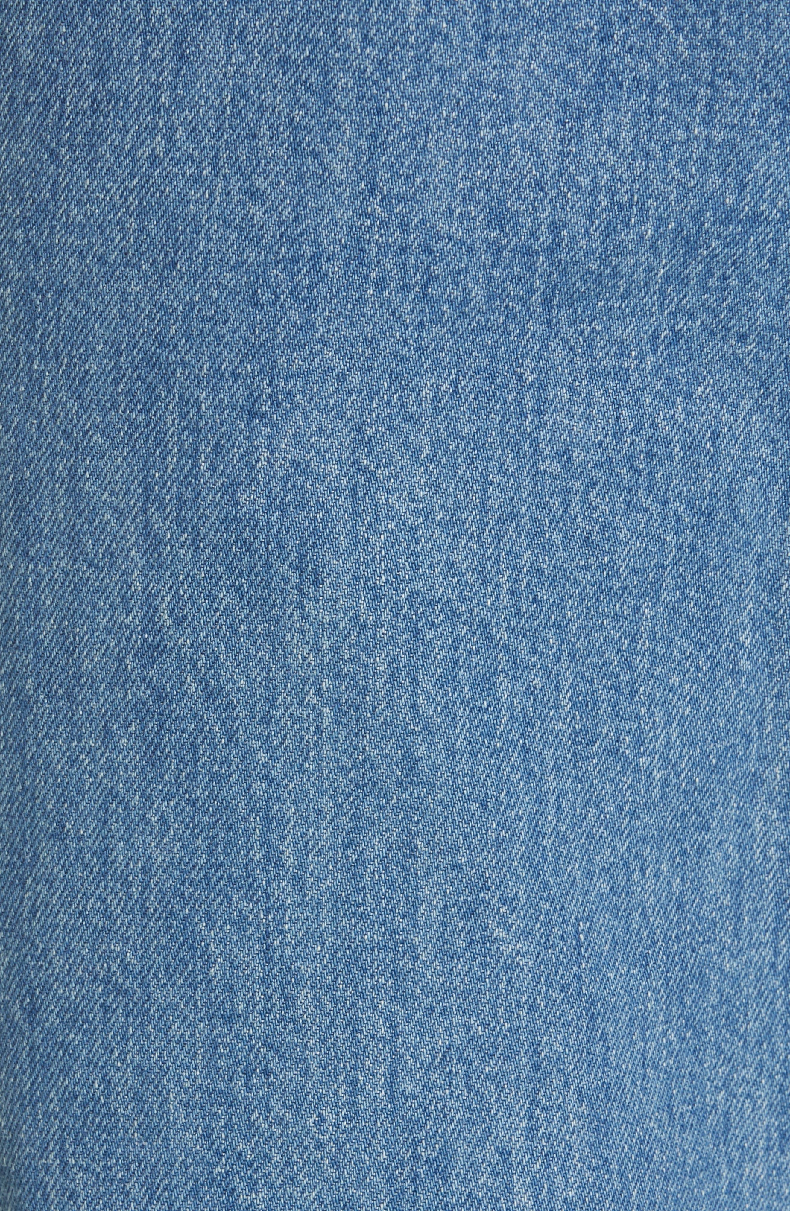 CALVIN KLEIN 205W39NYC, Jeans, Alternate thumbnail 5, color, BLUE