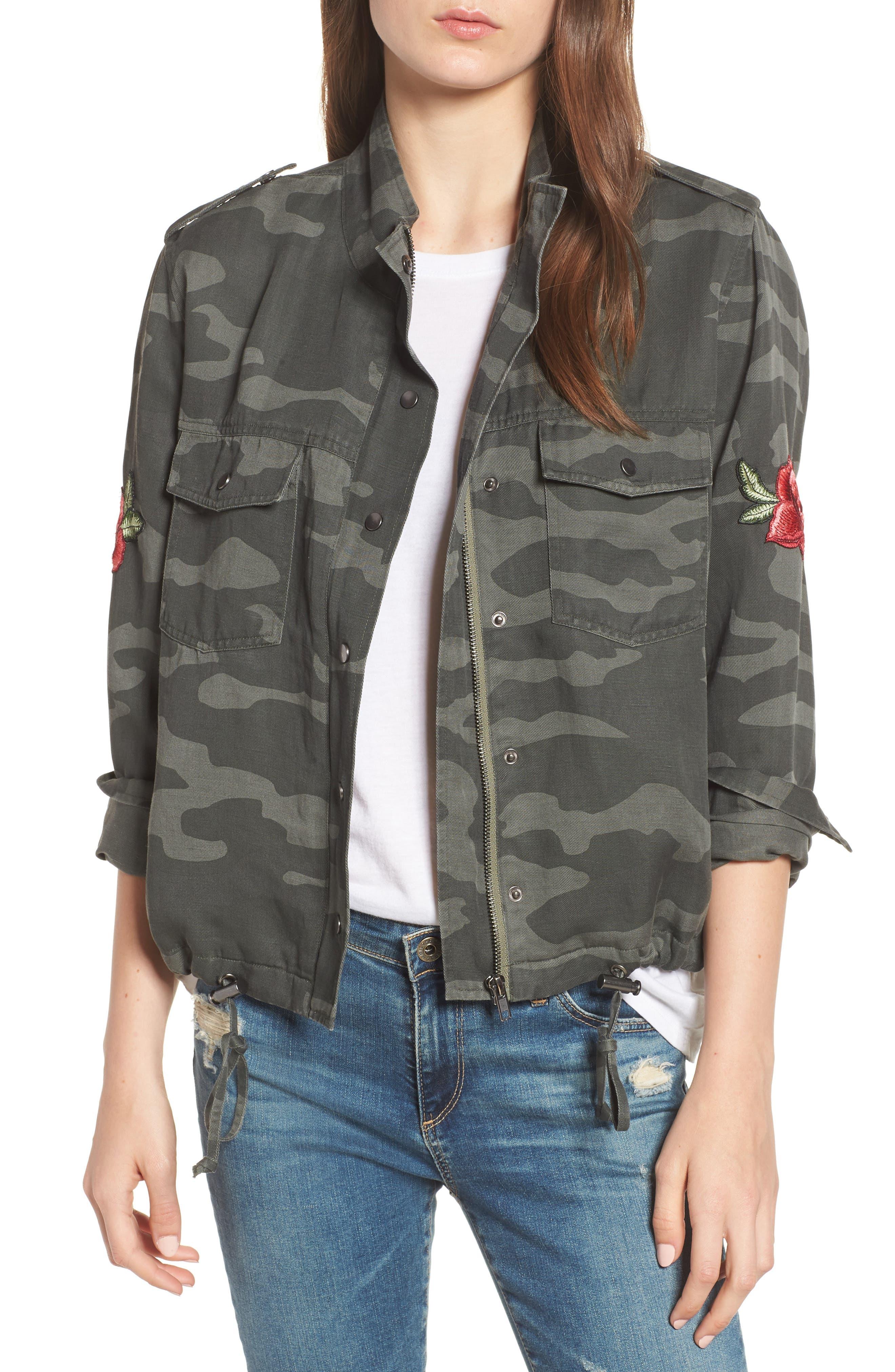 RAILS Collins Military Jacket, Main, color, 346