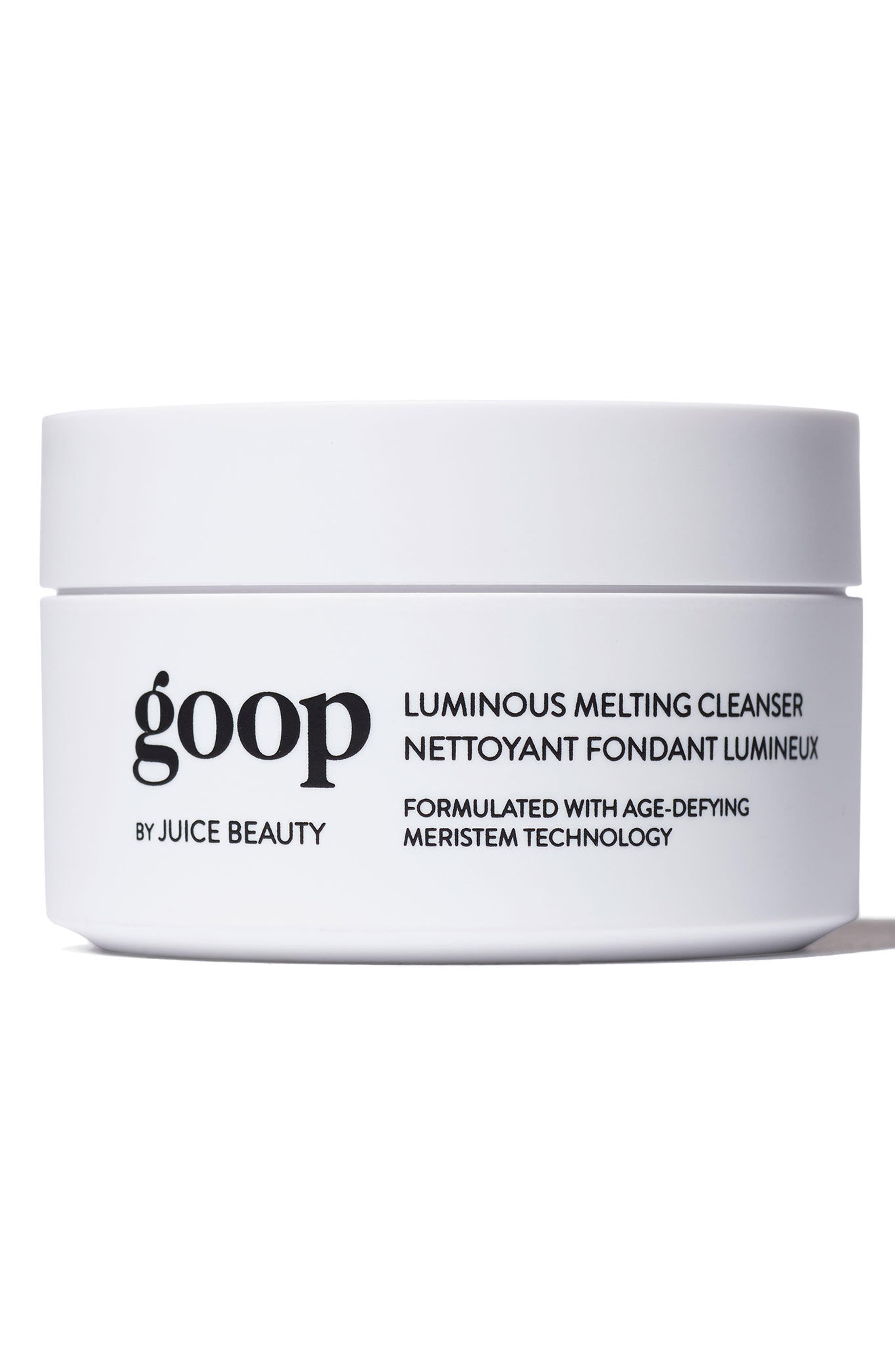 GOOP, by Juice Beauty Luminous Melting Cleanser, Main thumbnail 1, color, 000