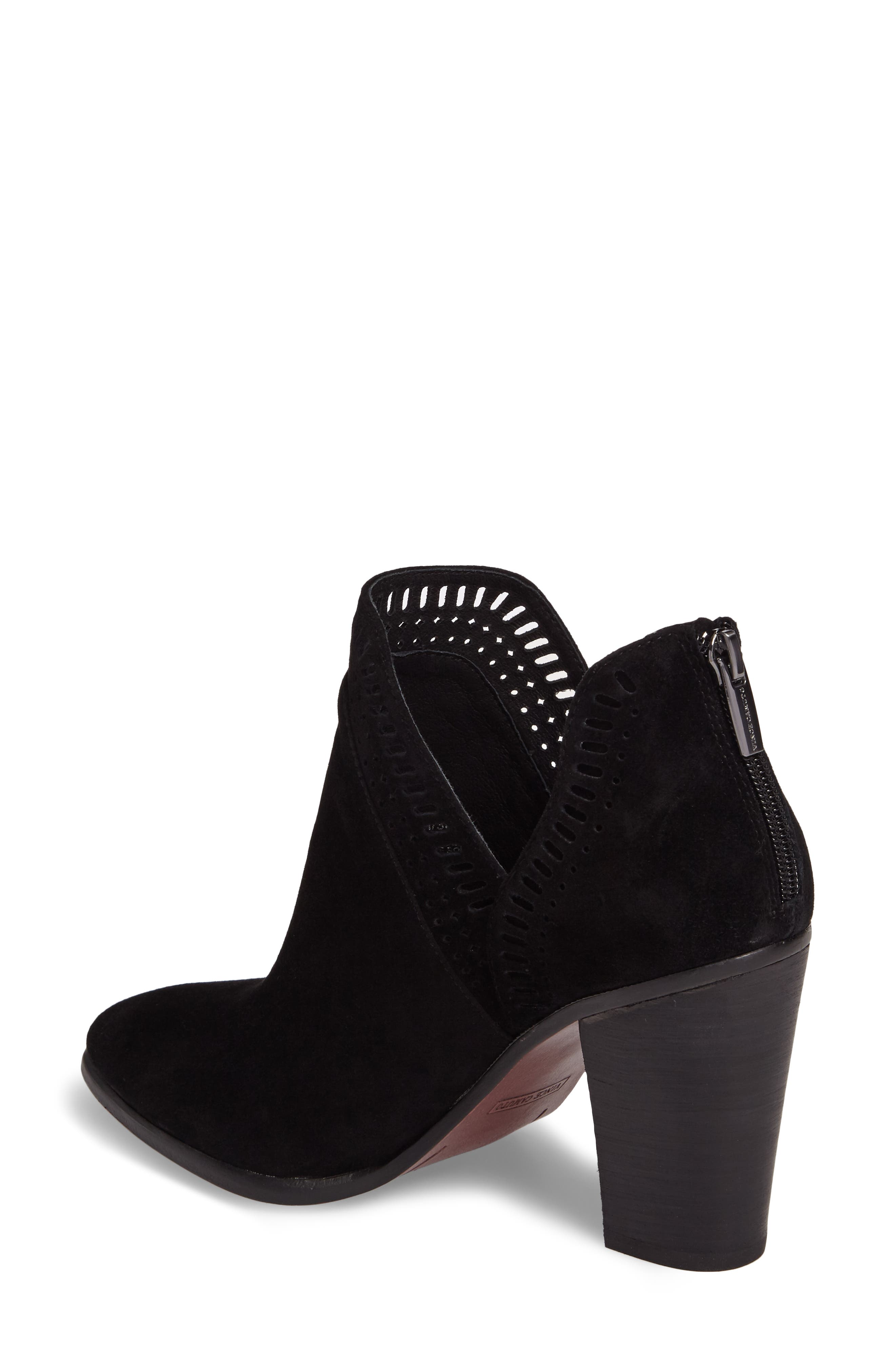 VINCE CAMUTO, Fileana Split Shaft Bootie, Alternate thumbnail 2, color, 001