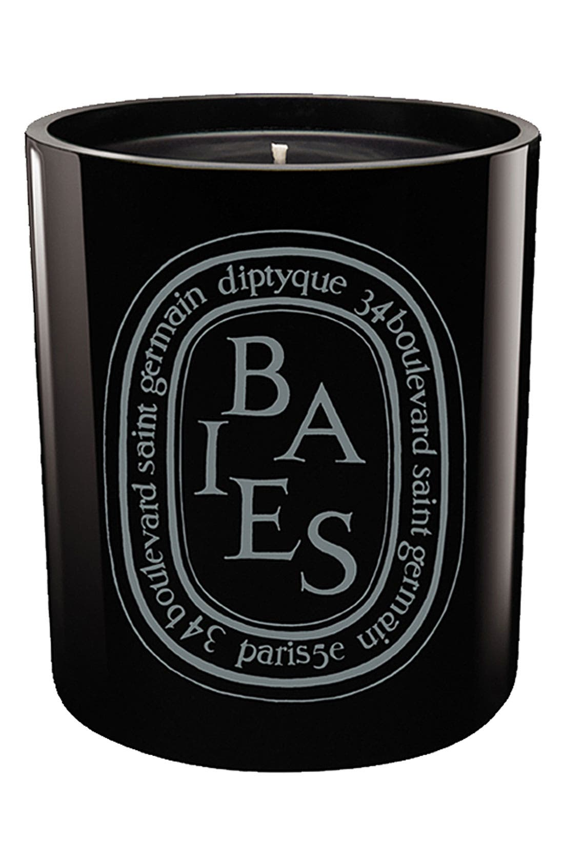 DIPTYQUE, 'Baies/Berries' Scented Black Candle, Main thumbnail 1, color, NONE