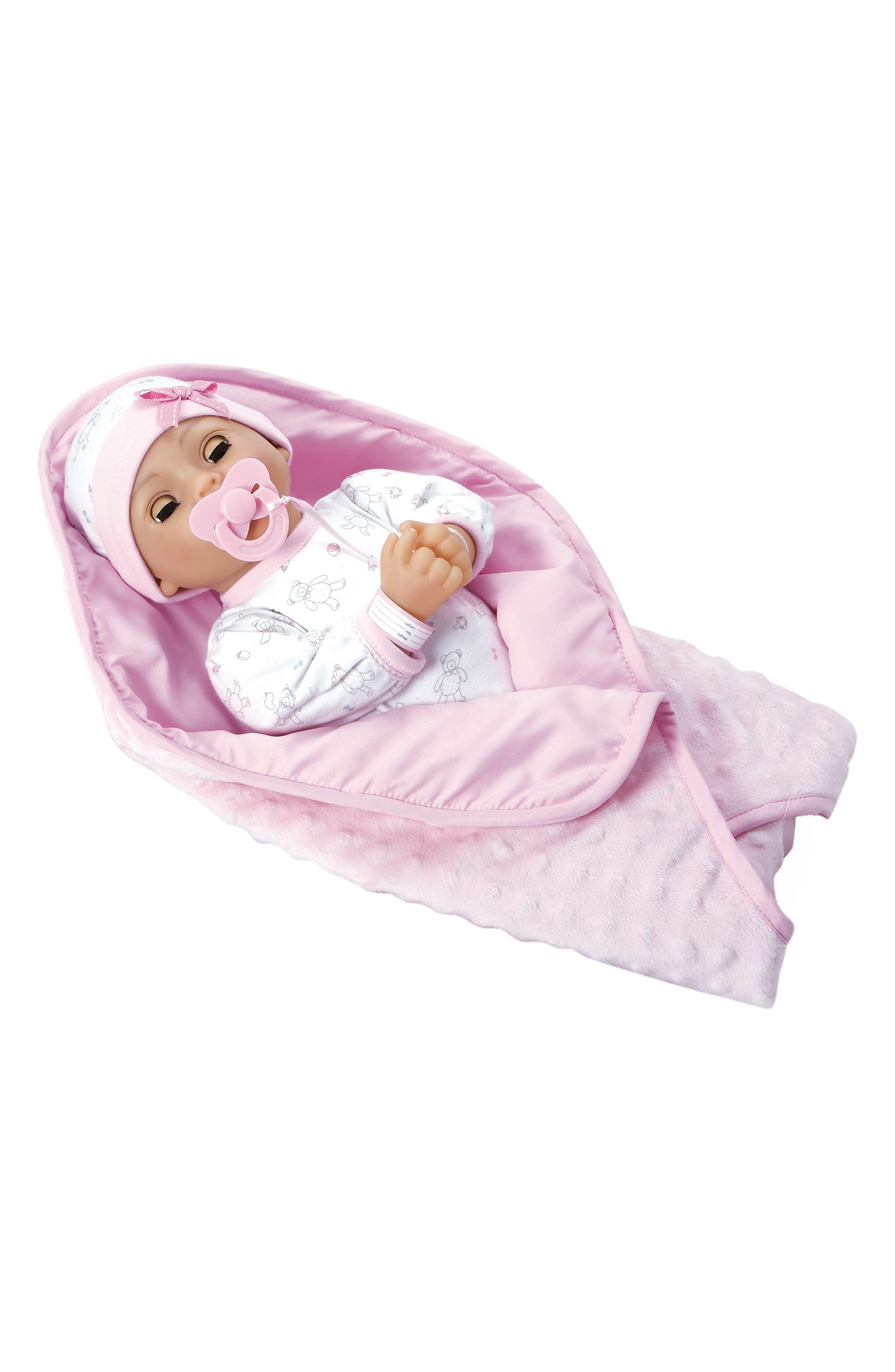 ADORA, Cherish Baby Doll with Adoption Certificate, Alternate thumbnail 4, color, CHERISH