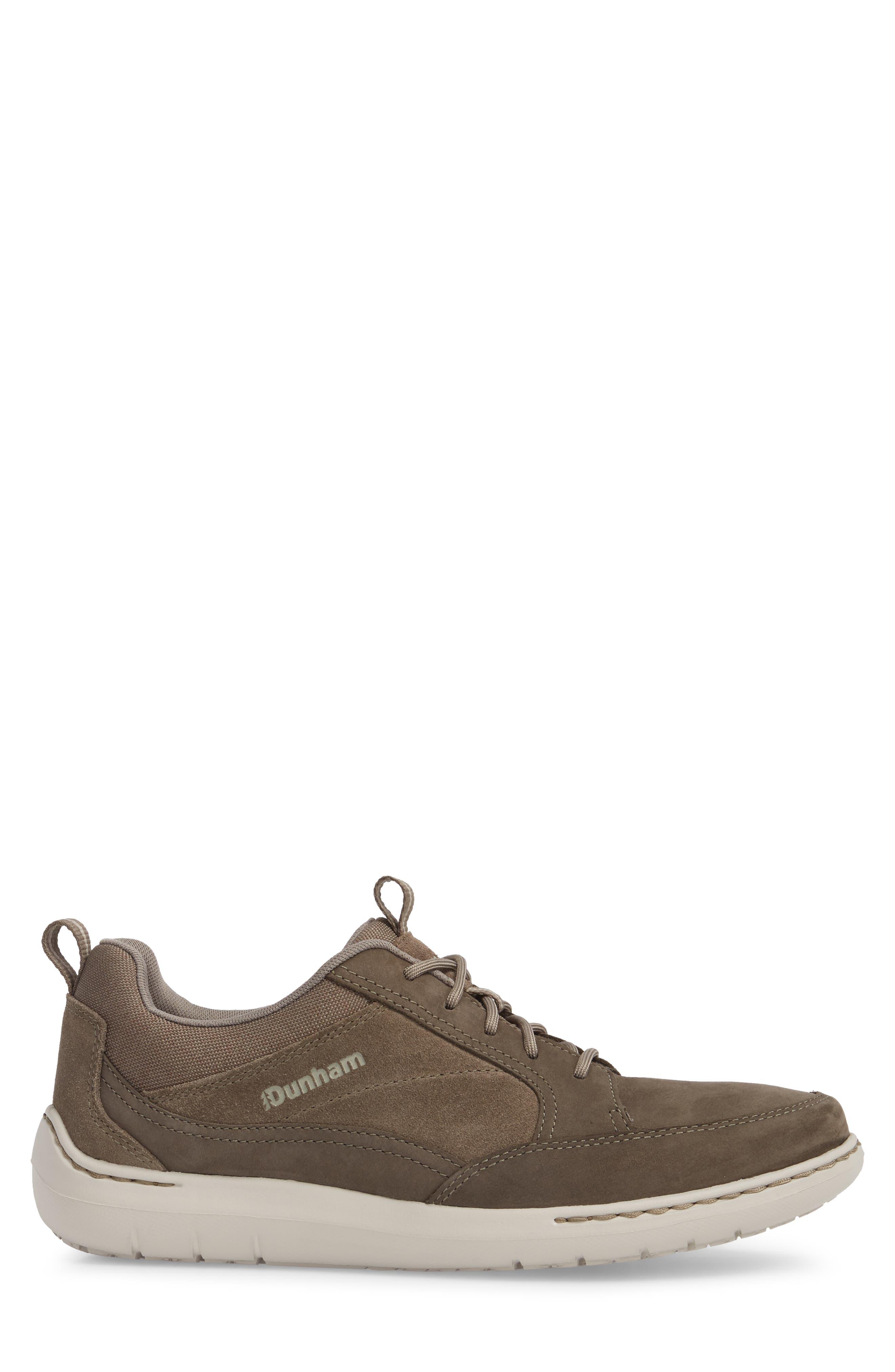 DUNHAM, D Fit Smart Sneaker, Alternate thumbnail 3, color, BROWN
