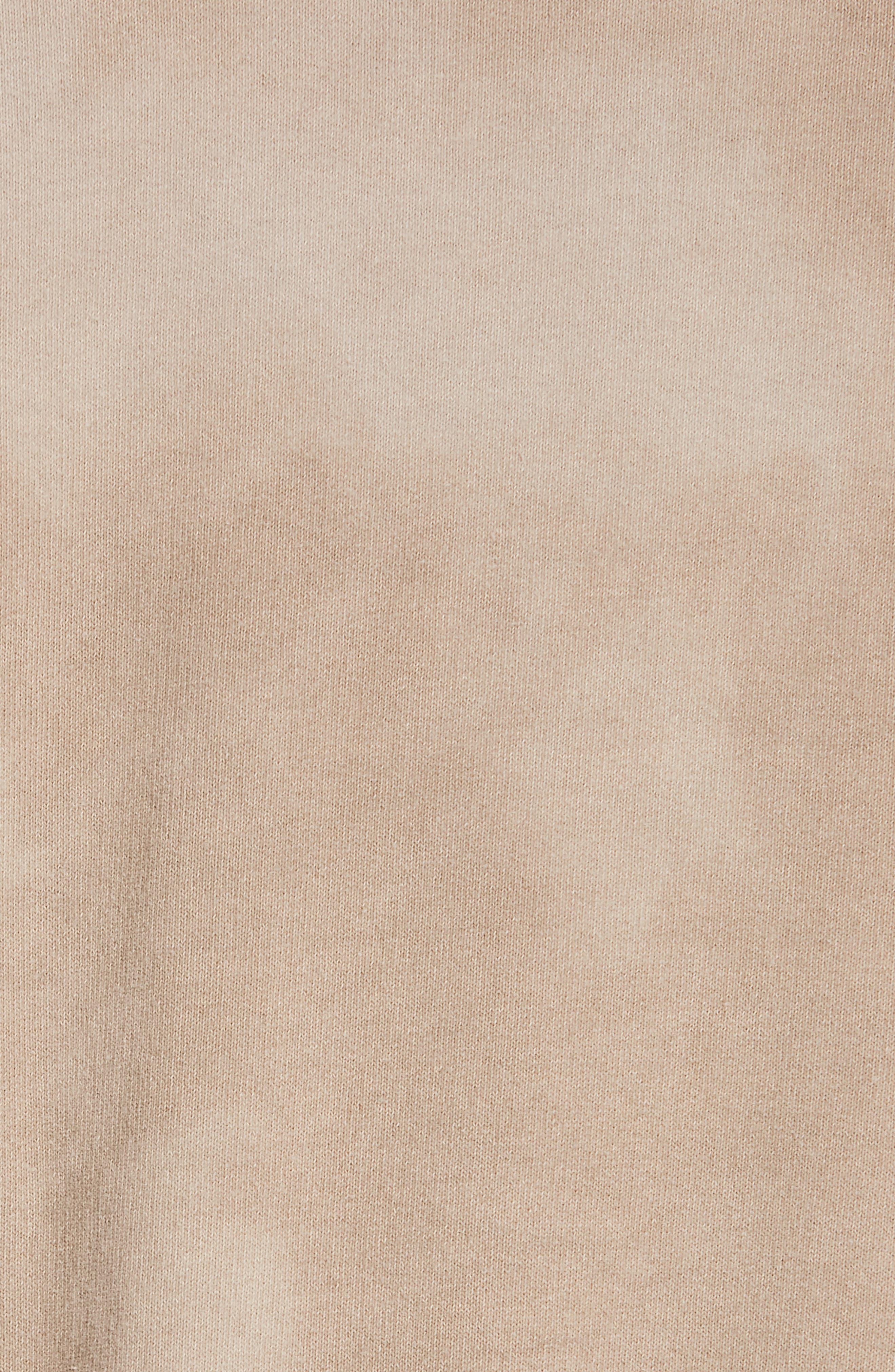 JOHN ELLIOTT, x Nordstrom Chrome Pullover Hoodie, Alternate thumbnail 5, color, MARBLED DUNE