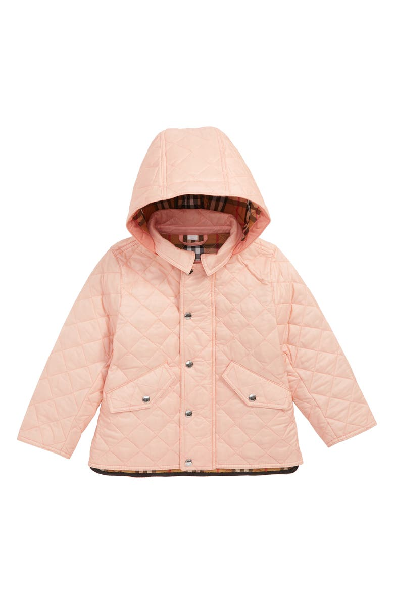 b55a9820b8e Burberry Ilana Quilted Water Repellent Jacket (Toddler Girls ...