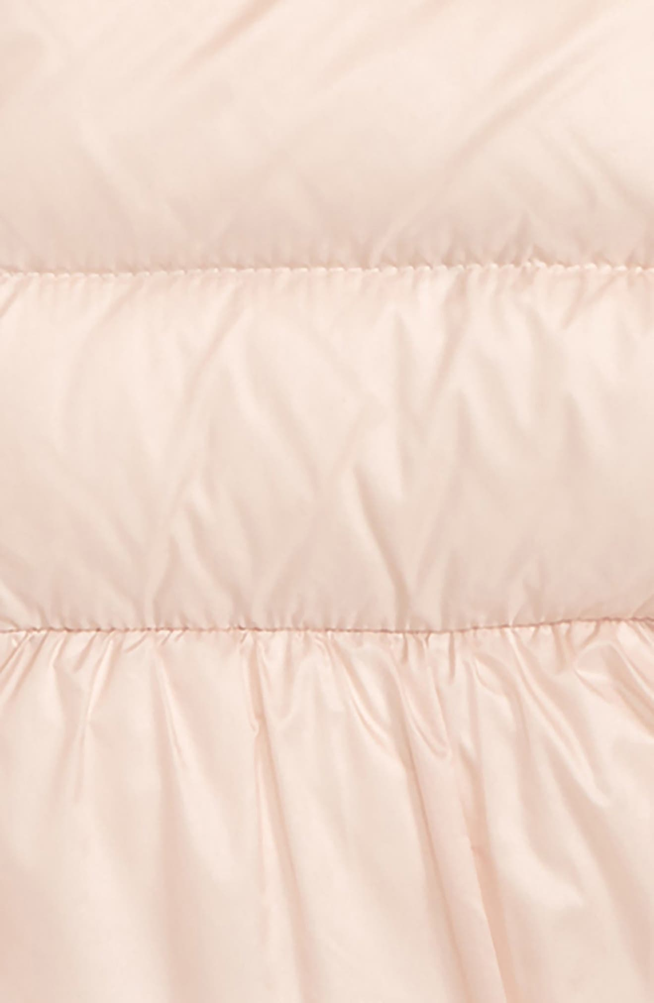 MONCLER, Odile Insulated Hooded Down Jacket, Alternate thumbnail 2, color, LIGHT PINK