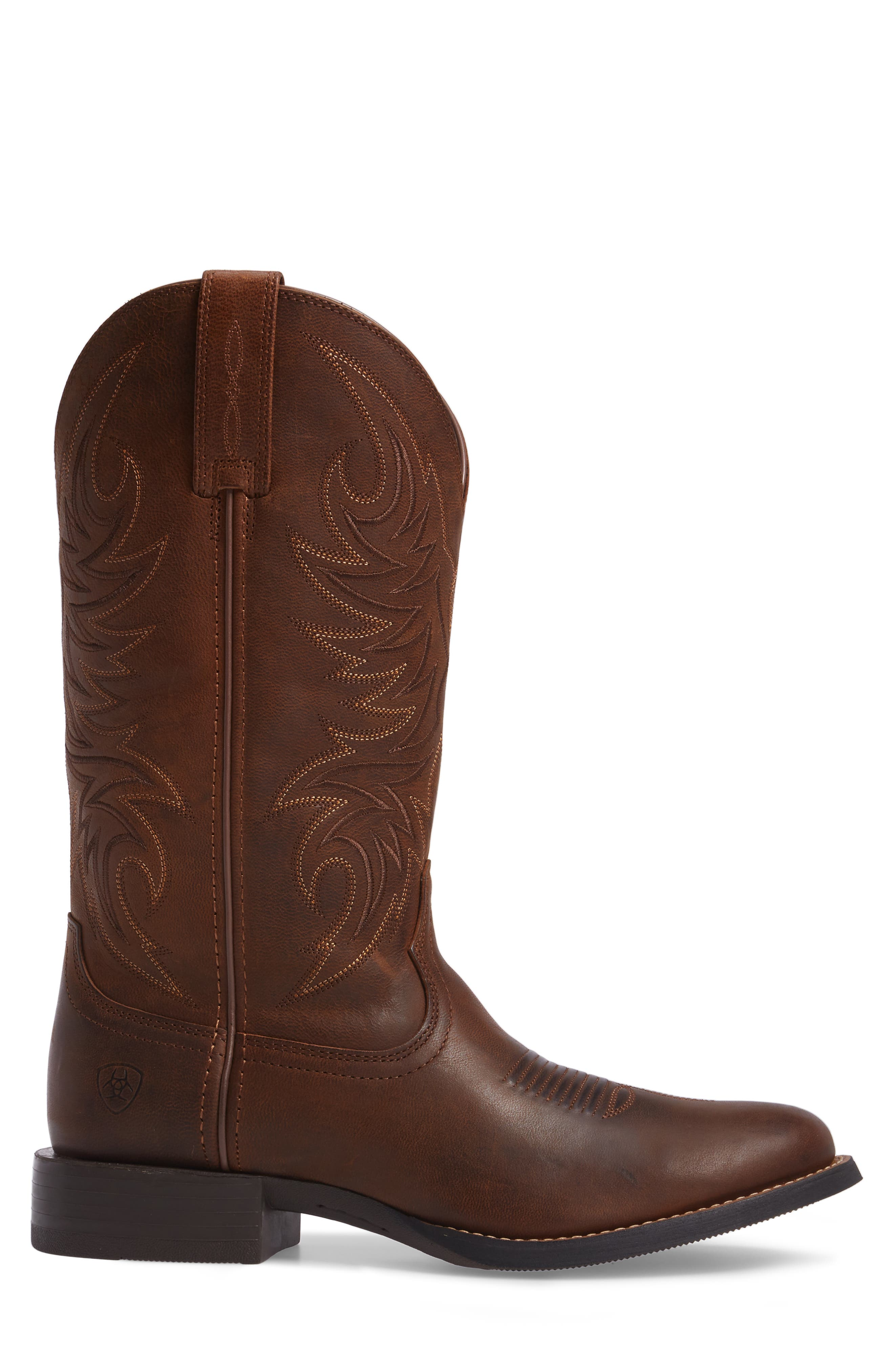 ARIAT, Sport Horsemen Cowboy Boot, Alternate thumbnail 3, color, 200