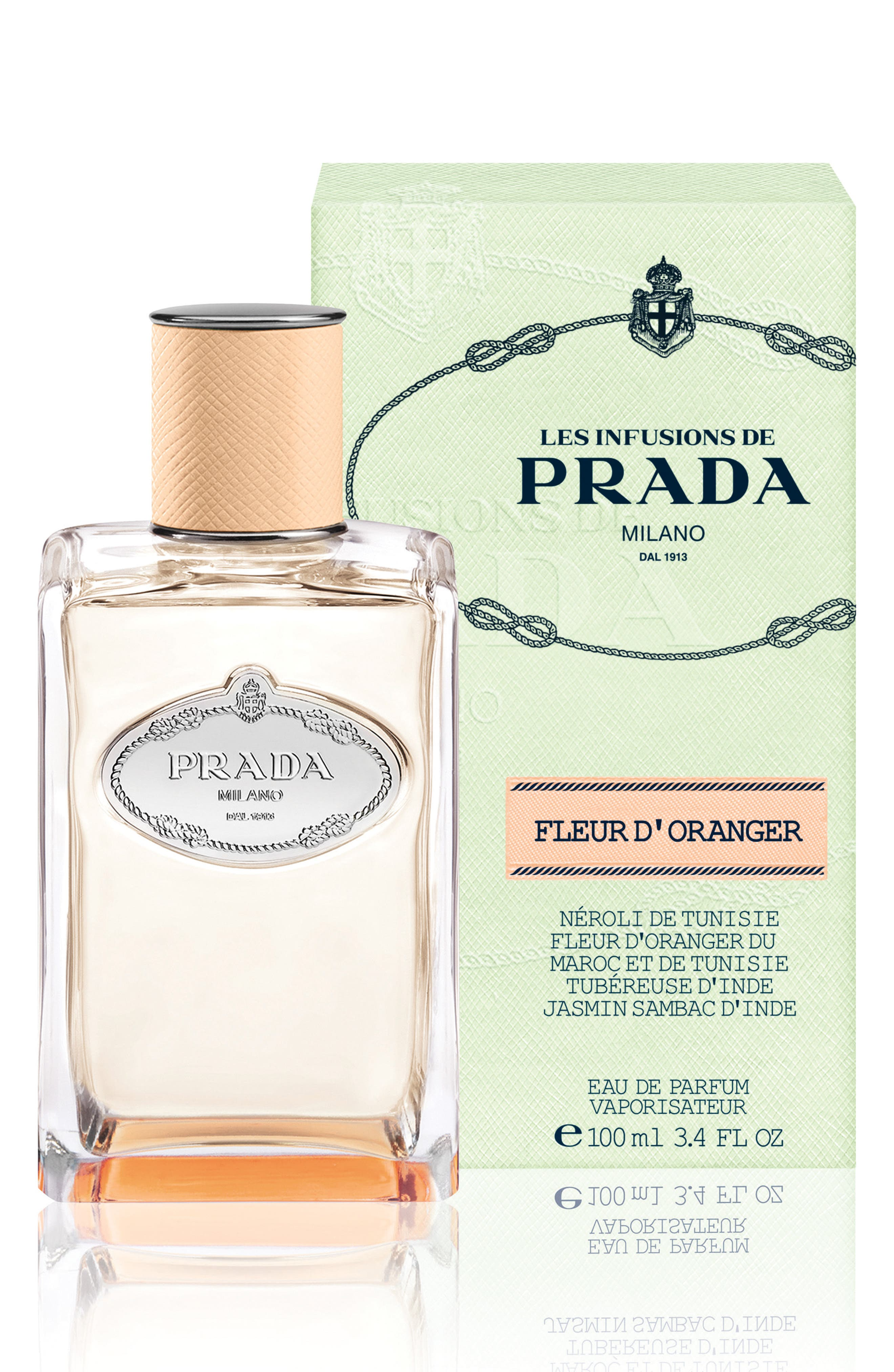 PRADA, Les Infusions Fleur dOranger Fragrance, Alternate thumbnail 2, color, 000